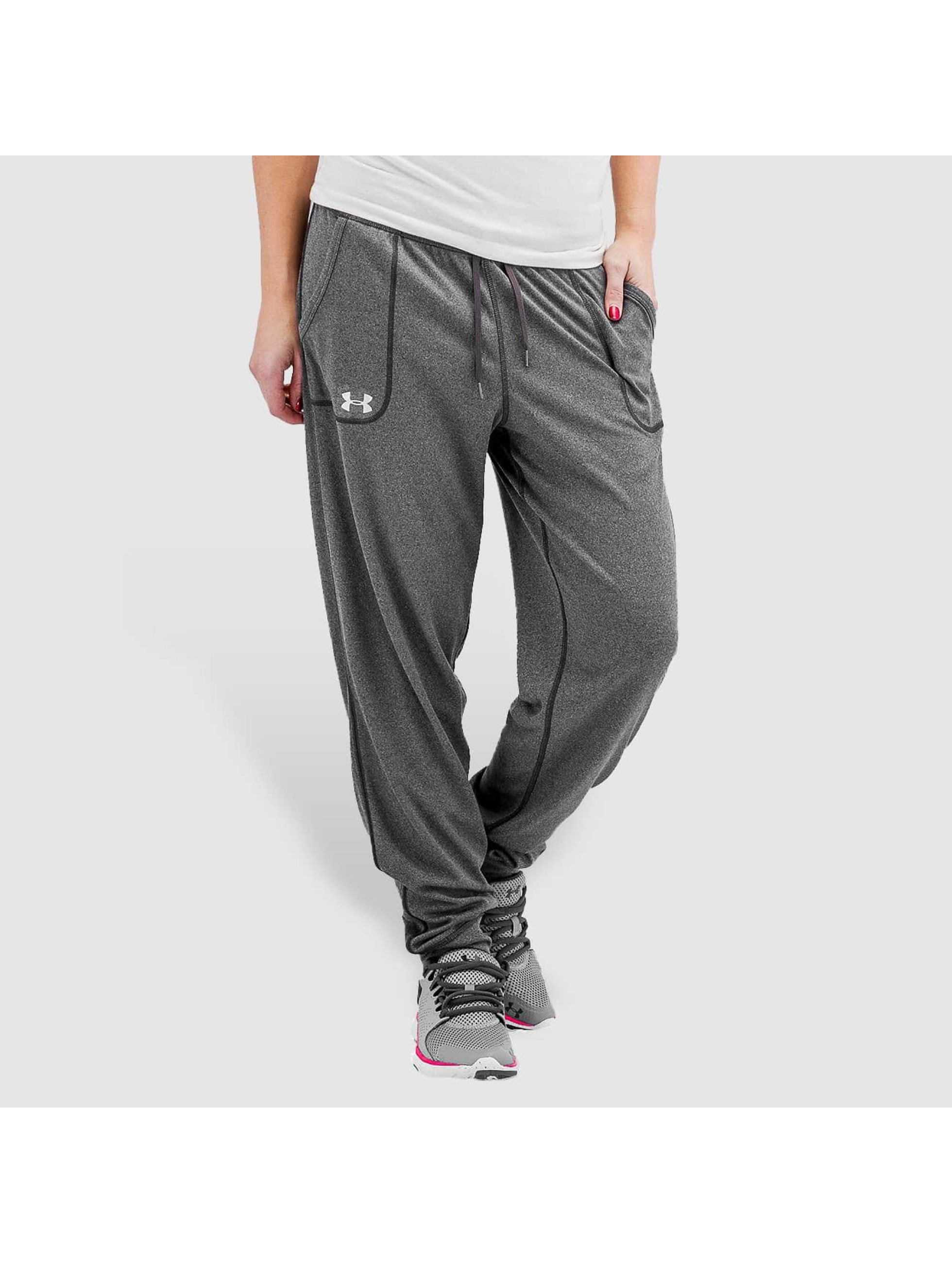 Under Armour Frauen Jogginghose Tech Solid in grau