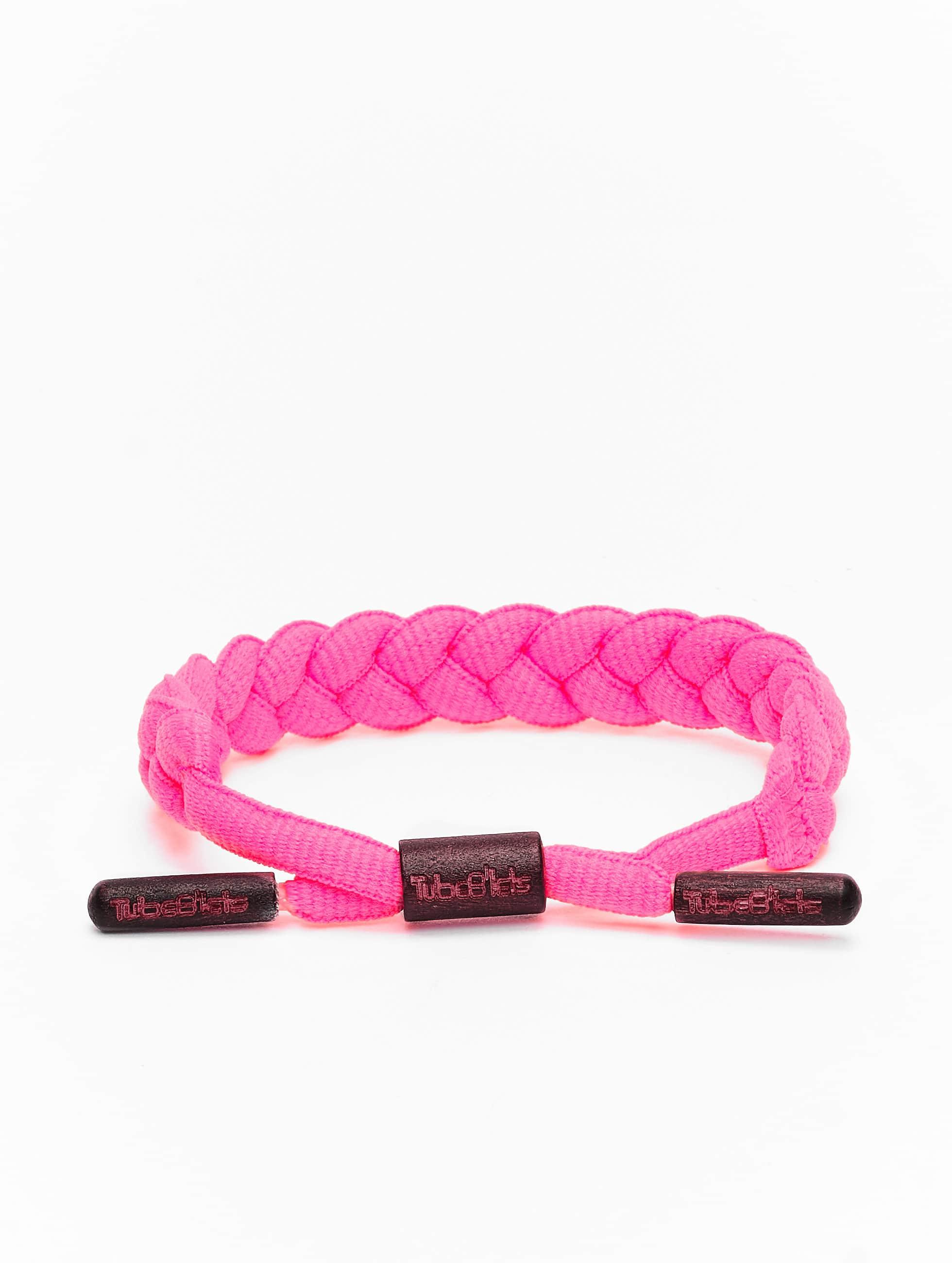 Klein Döbbern Angebote Tubelaces Männer,Frauen Armband TubeBlet in pink