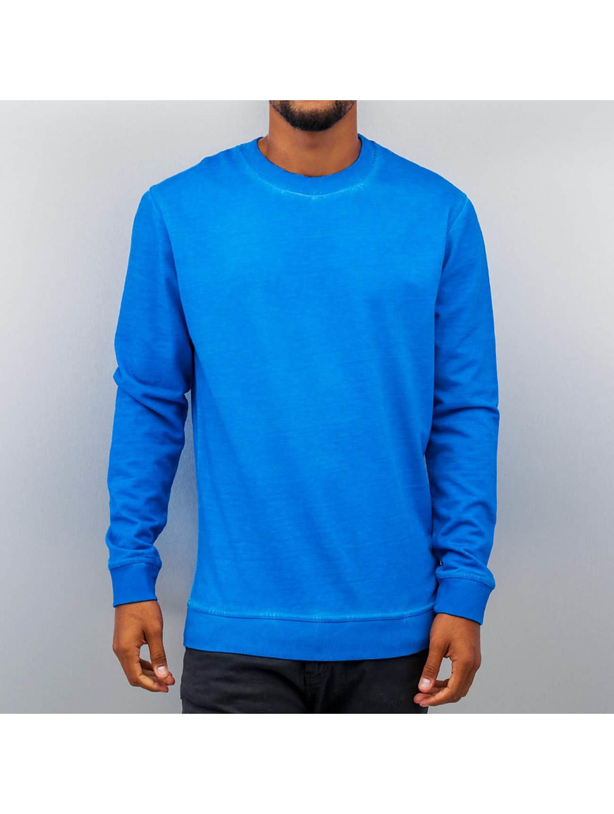 Just Rhyse Männer Pullover Dye in blau
