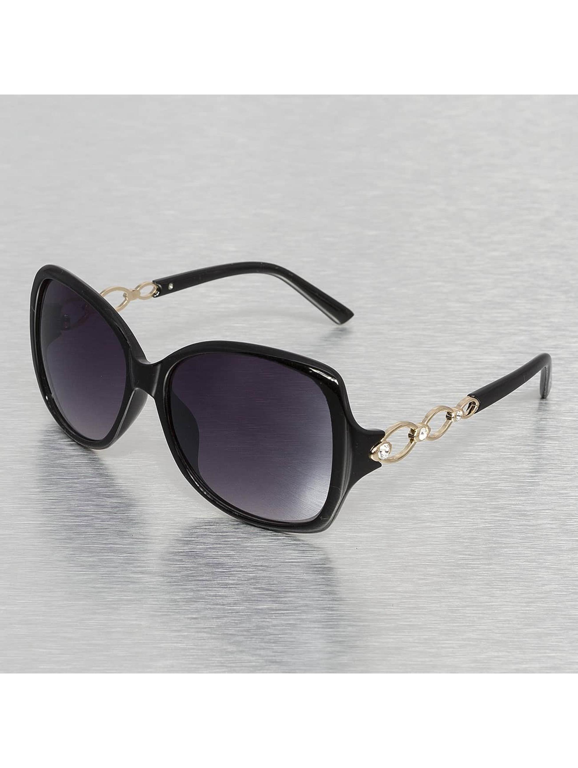 Miami Vision Frauen Sonnenbrille Vision in schwarz