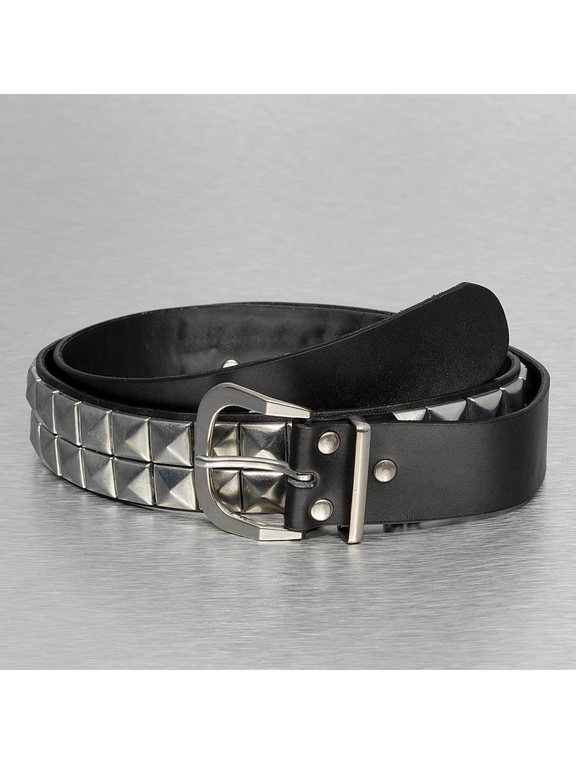 Kaiser Jewelry Männer,Frauen Gürtel 2 Row Chain in schwarz