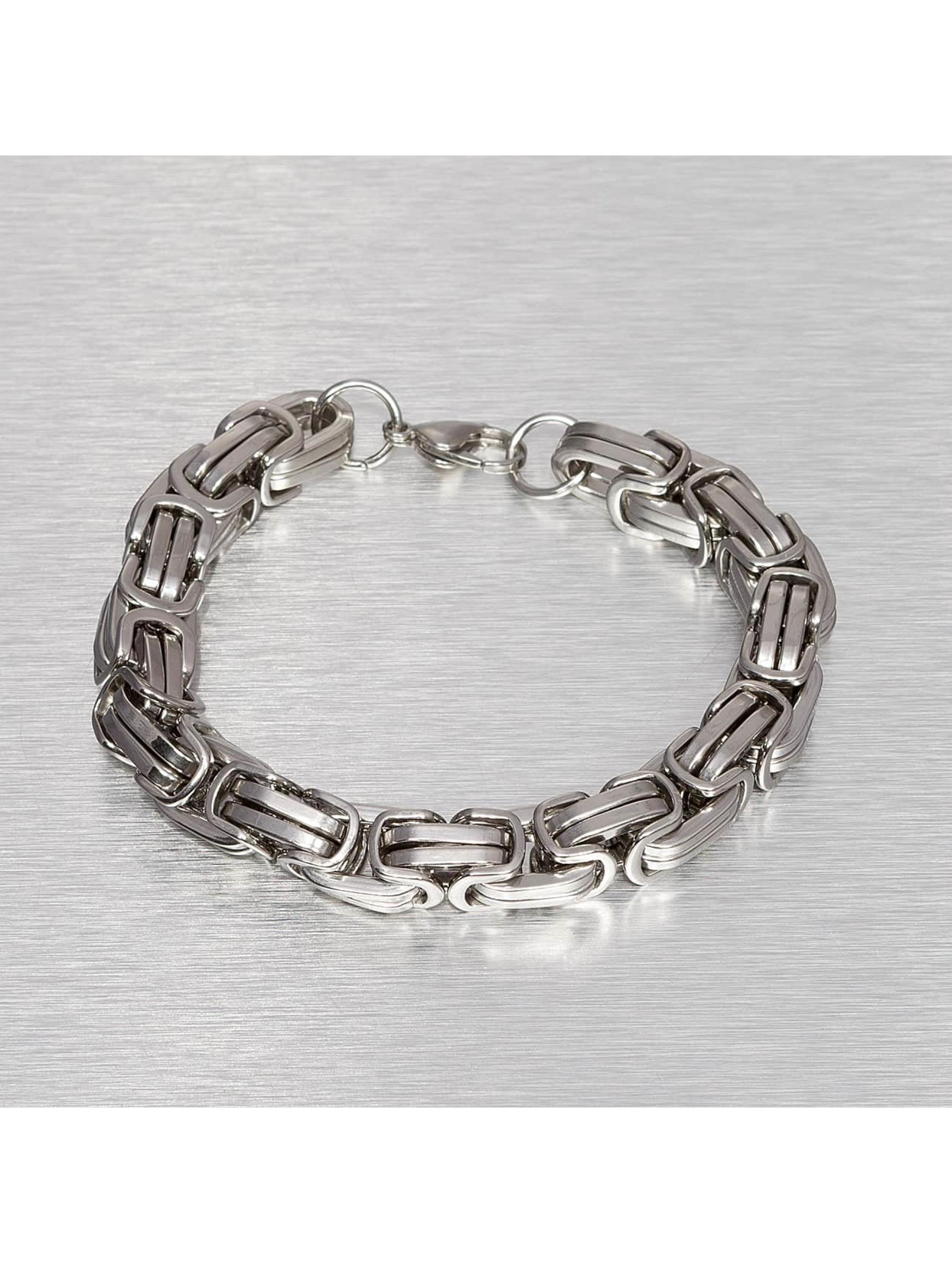Paris Jewelry Männer,Frauen Armband 21 cm Stainless in silberfarben