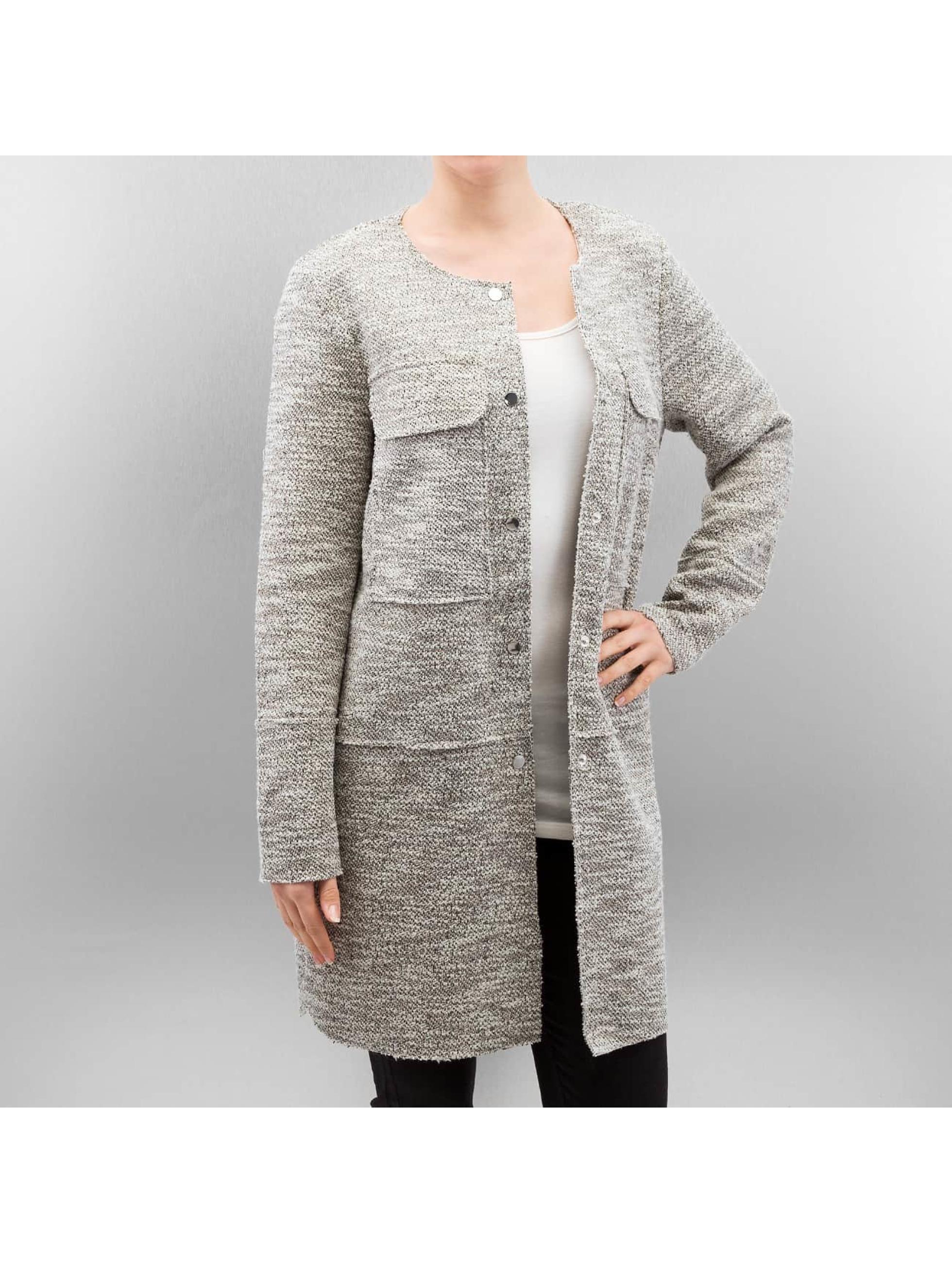 Vero Moda Frauen Mantel vmElvi in weiß
