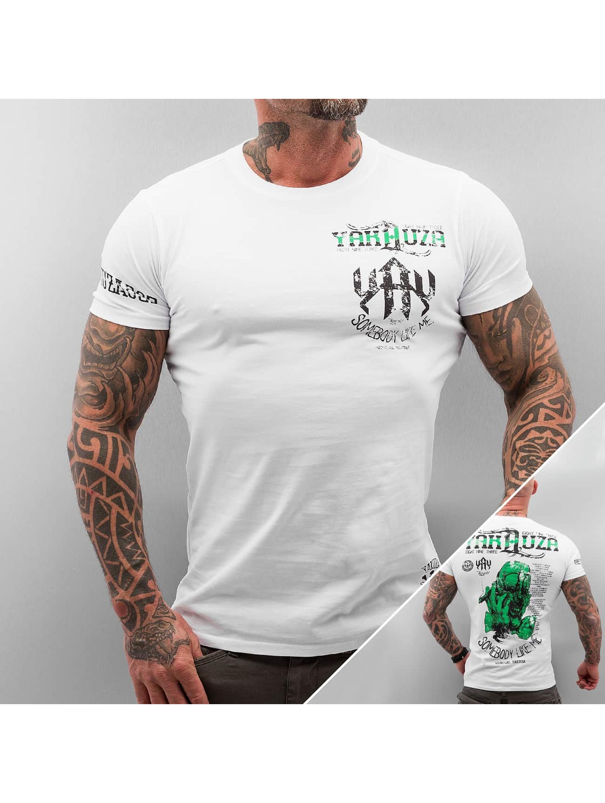 Yakuza Somebody Like Me T Shirt White