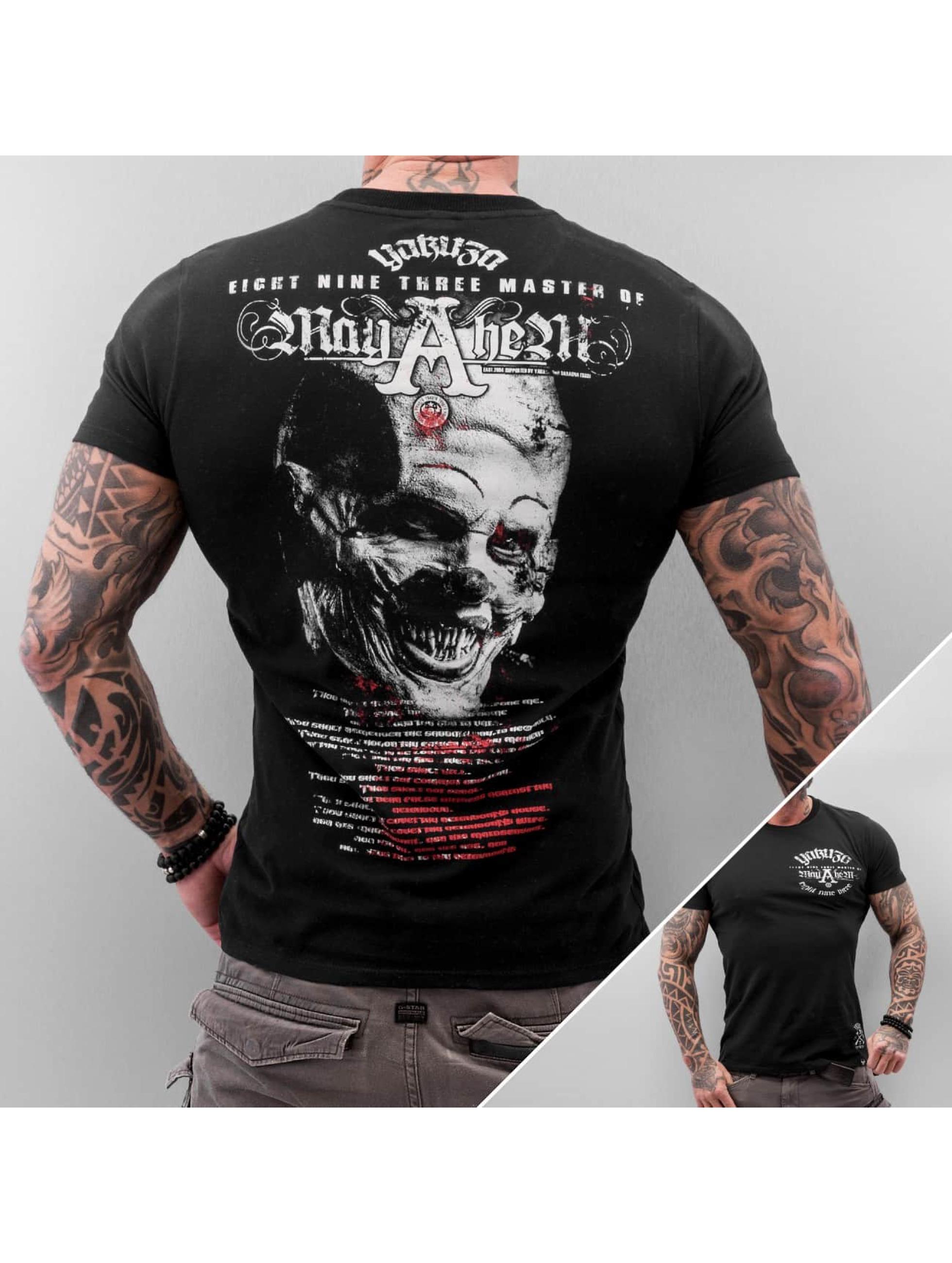 Yakuza Mayhem T Shirt Black