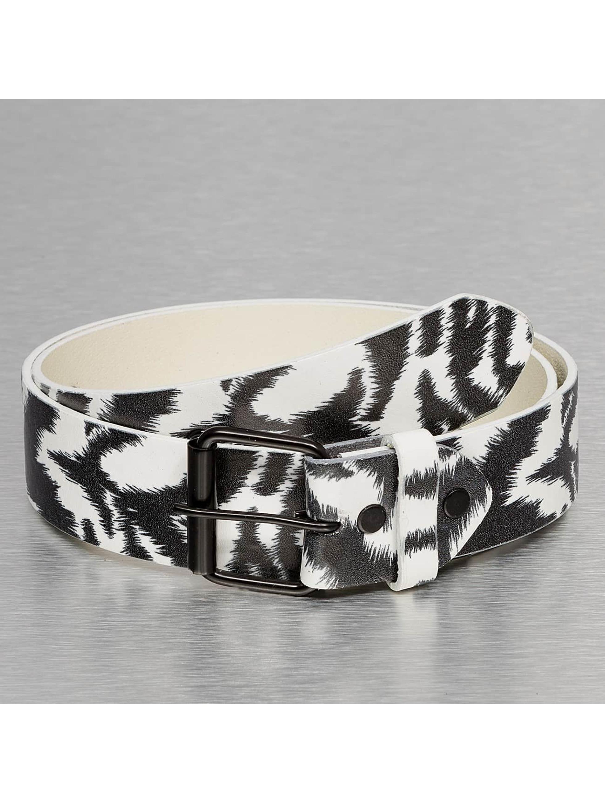 Kaiser Jewelry Männer,Frauen Gürtel Zebra in weiß