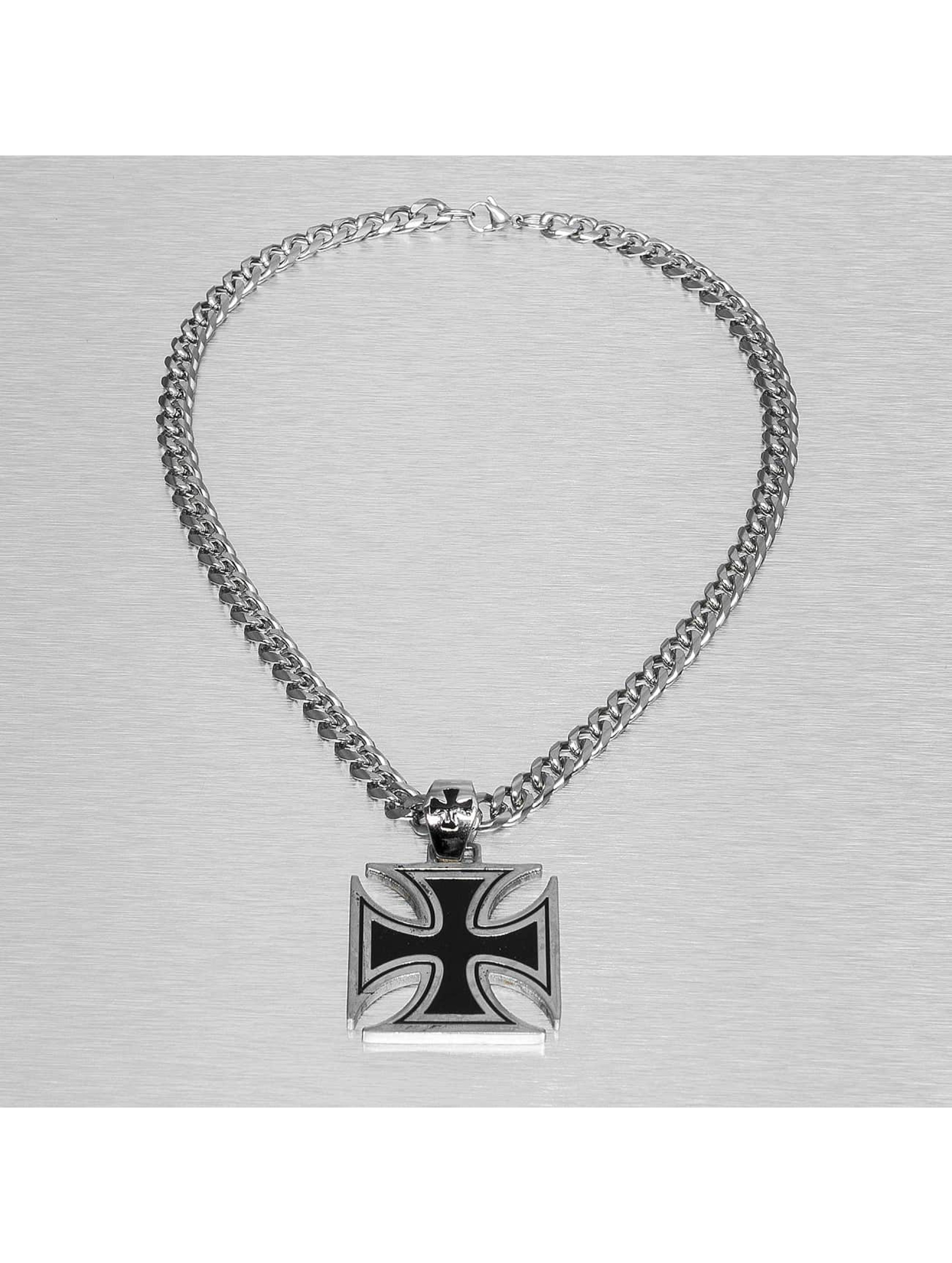 Paris Jewelry Männer,Frauen Kette Cross in silberfarben
