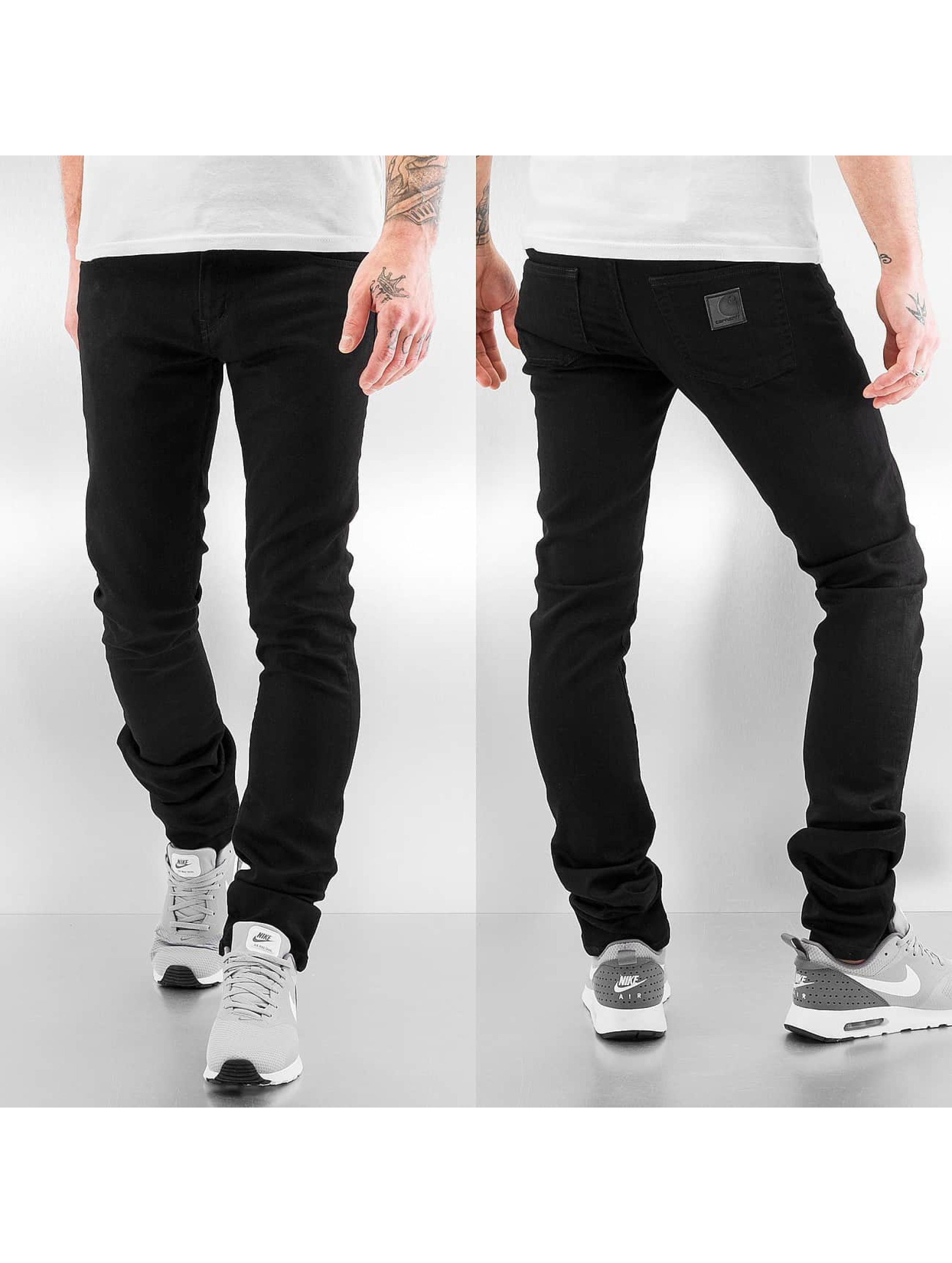 Carhartt WIP Towner Rebel Slim Tapered Fit Jeans Black Rinsed Sale Angebote Ruhland