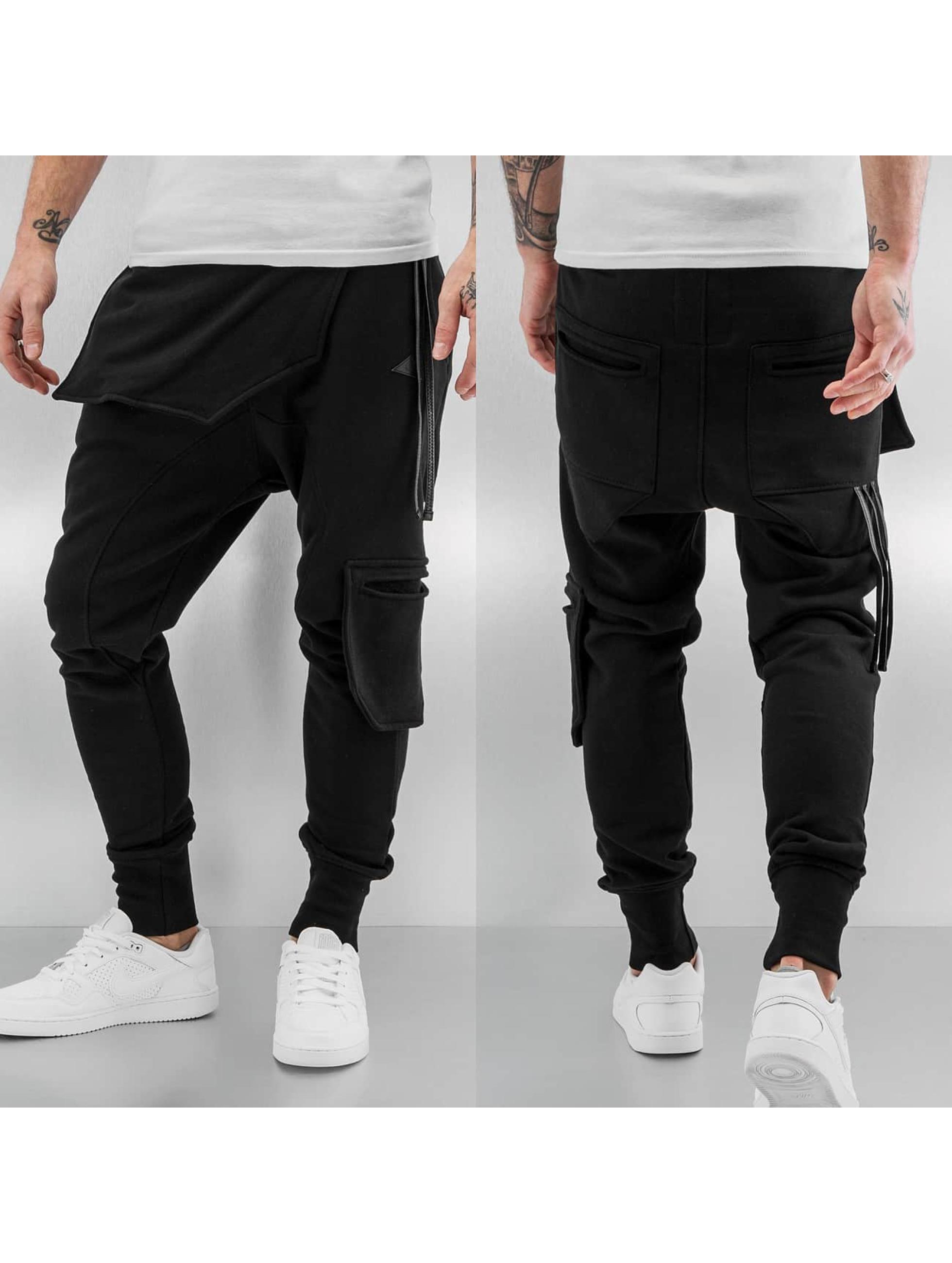 Bangastic Männer Jogginghose New Pocket in schwarz