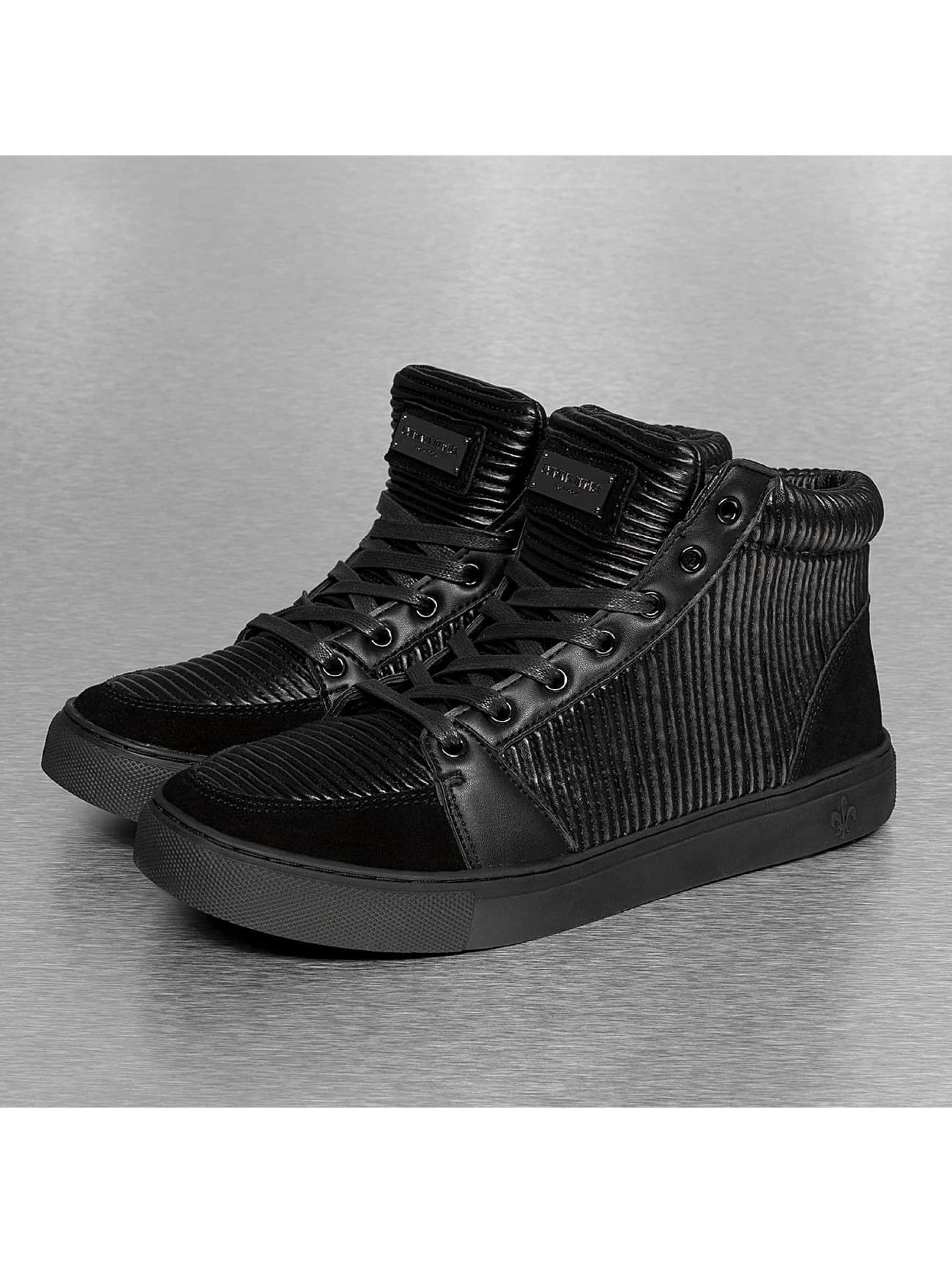 Criminal Damage Männer Sneaker Rocky High in schwarz