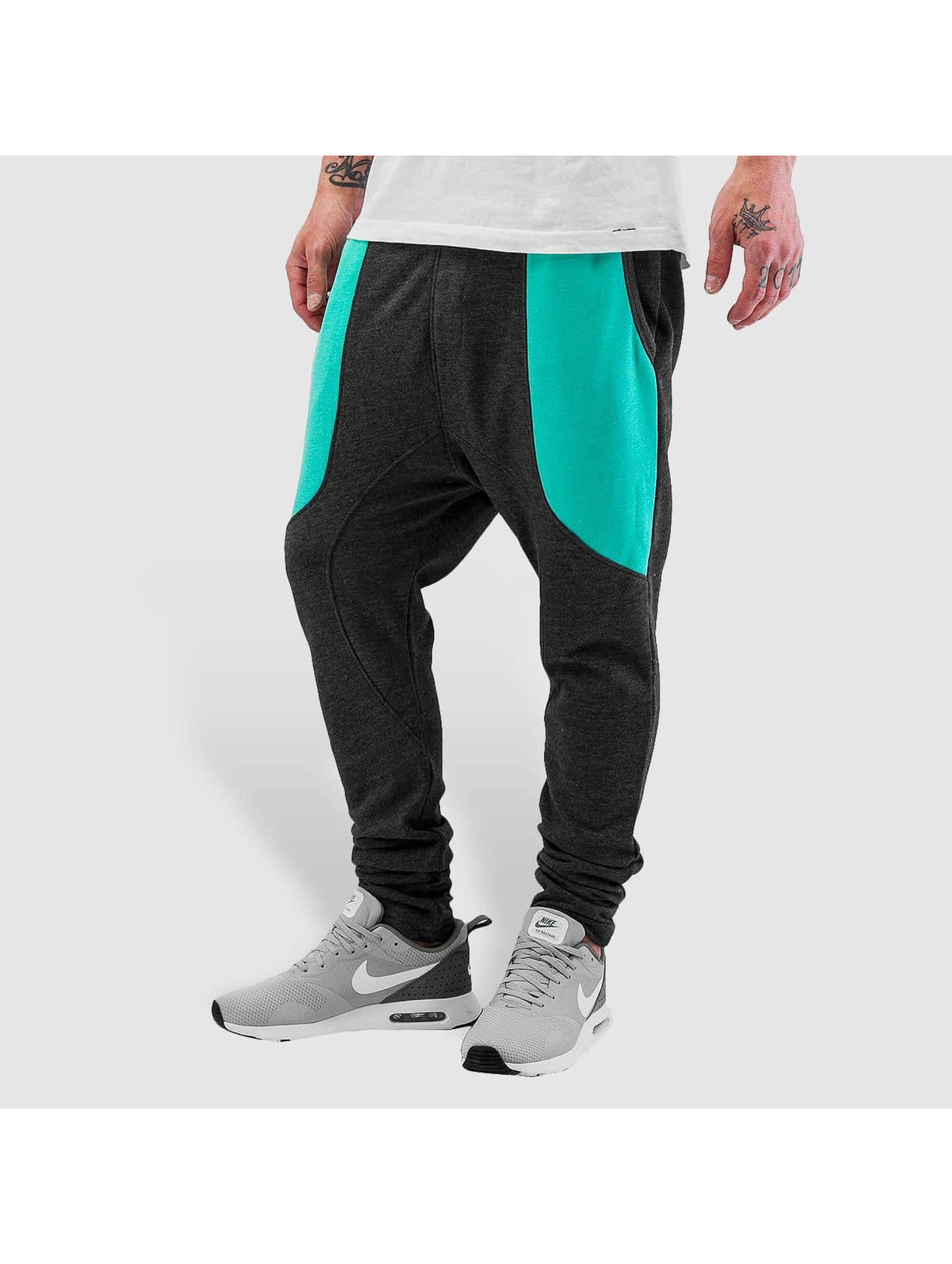 Just Rhyse Männer Jogginghose Two Tone in grau