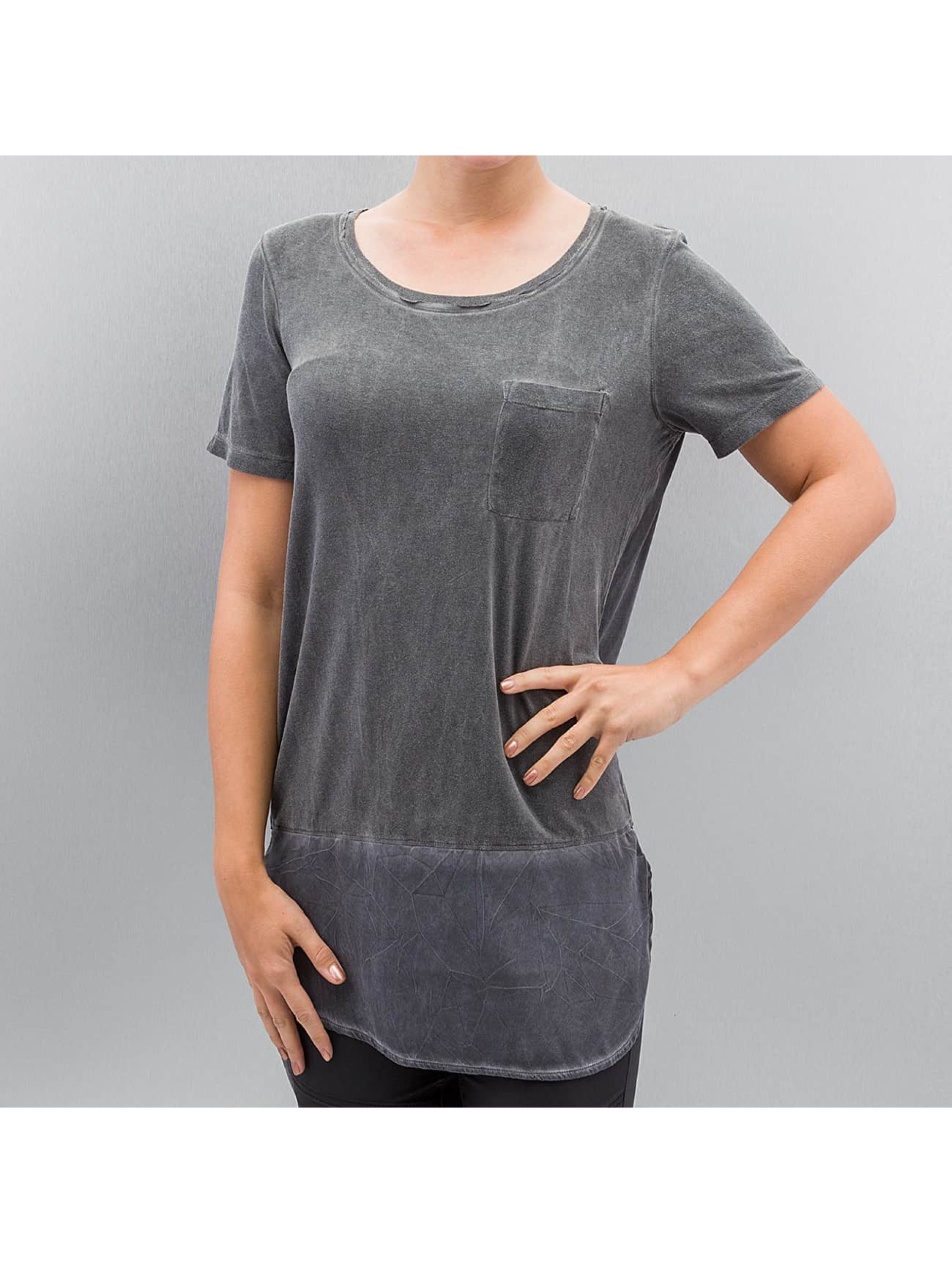 Noisy May Frauen T-Shirt nmPuma in grau