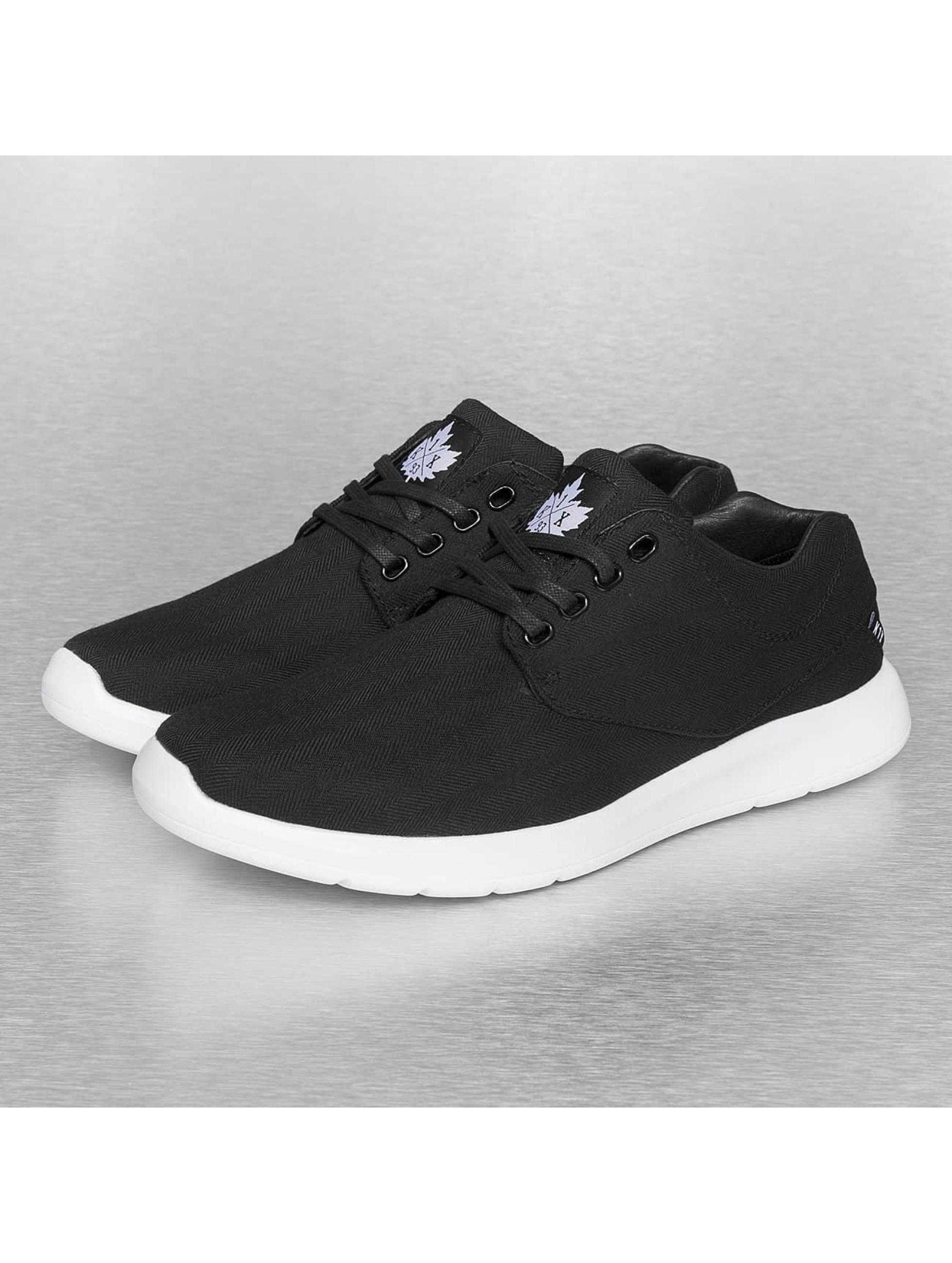 K1X Dressup Lightweight Black Tweed Schuhe Sneaker Schwarz Weiß