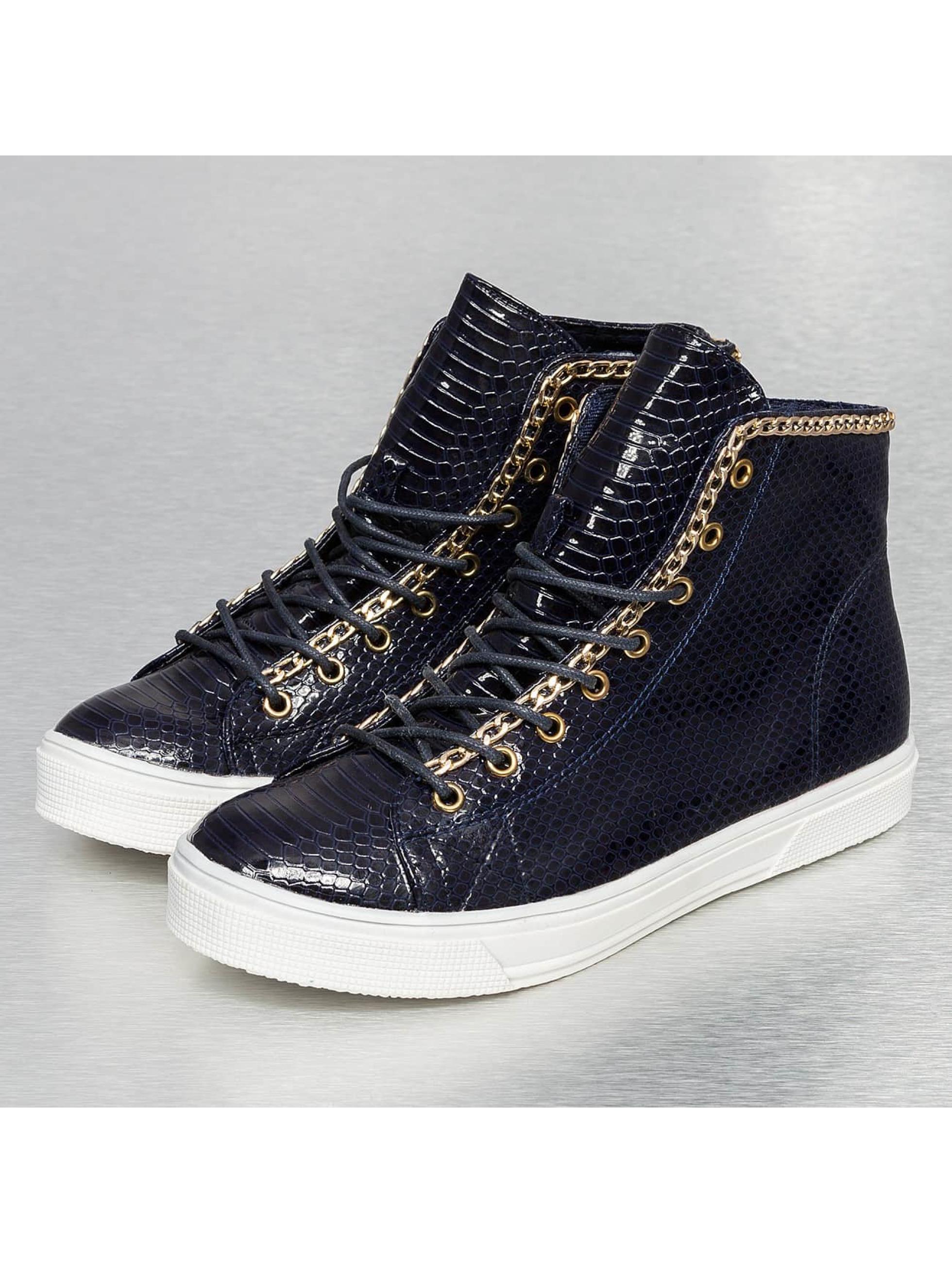 Jumex Frauen Sneaker High Top in blau