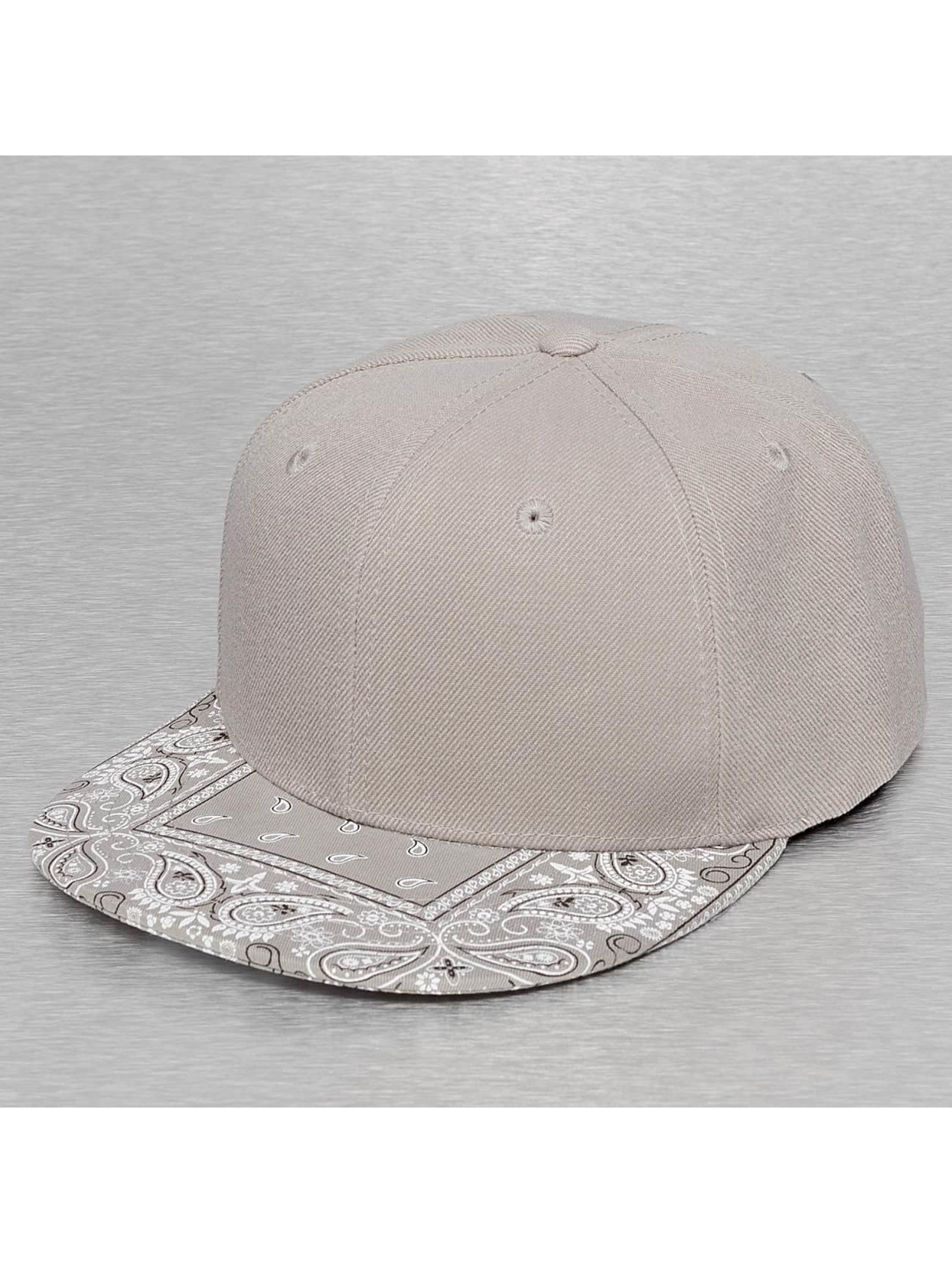 Decky USA Männer,Frauen Snapback Cap Bandanna in grau
