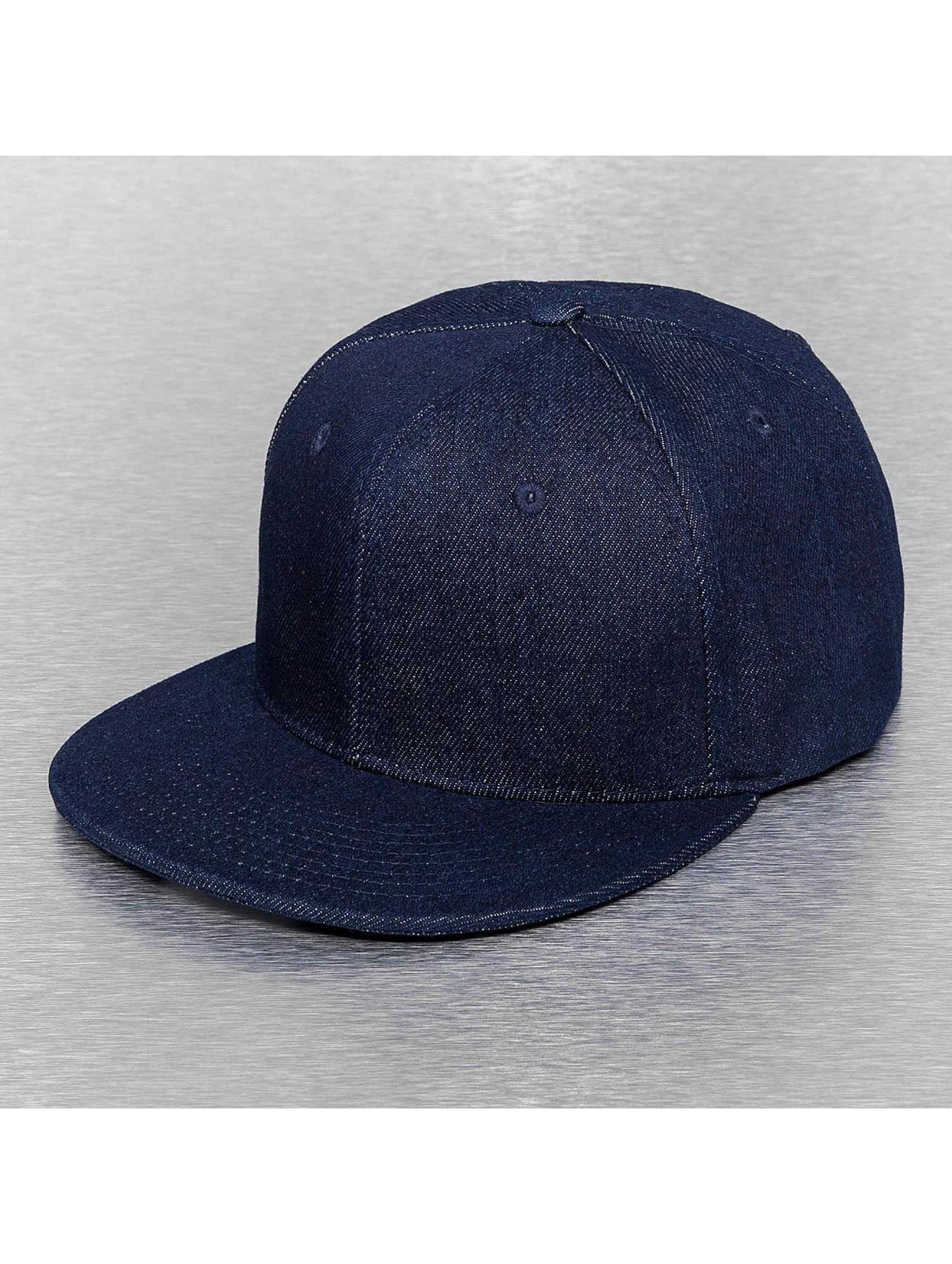 Cap Crony Männer,Frauen Snapback Cap Denim in blau