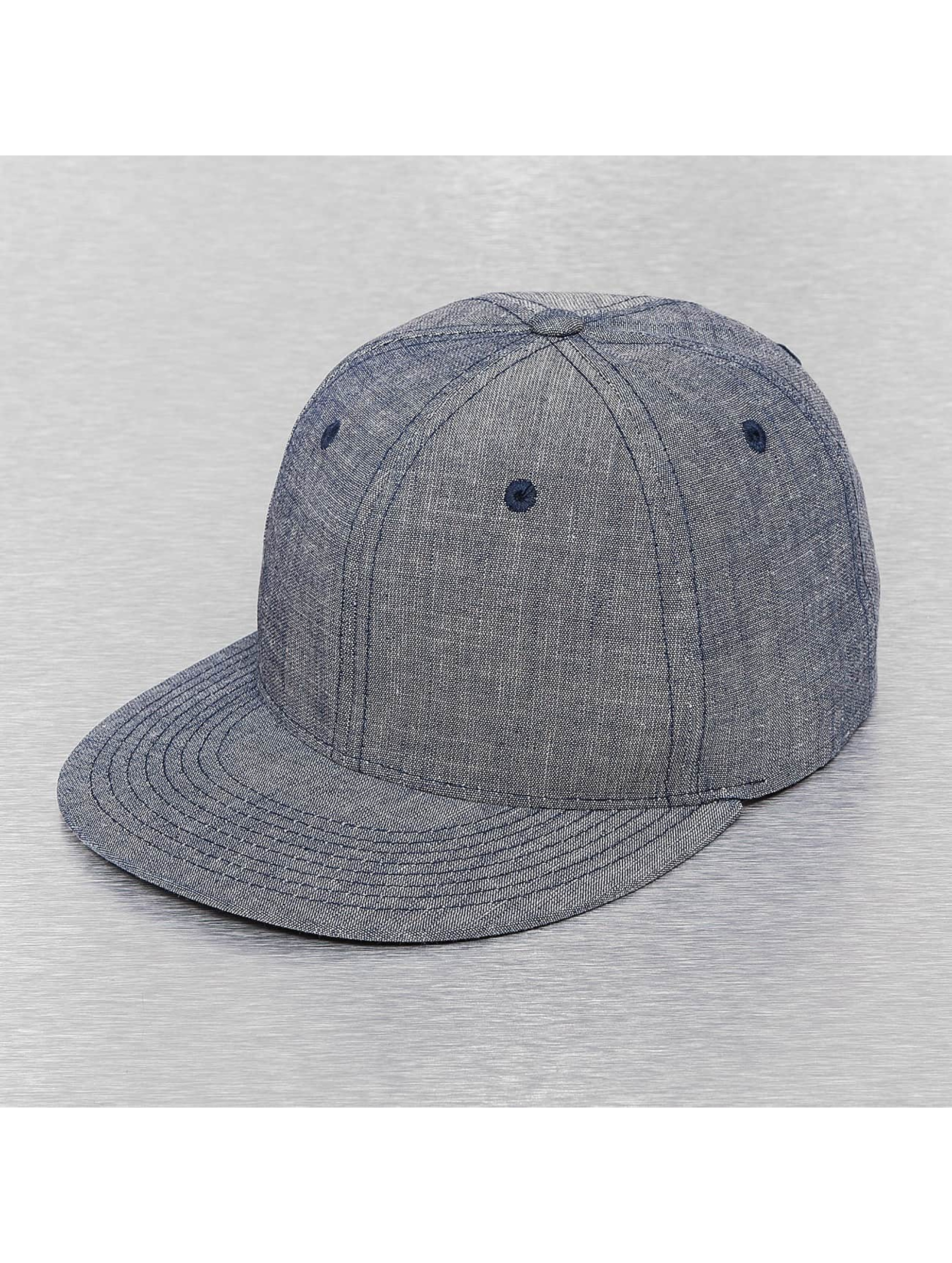 Cap Crony Männer,Frauen Snapback Cap Washed Denim in blau