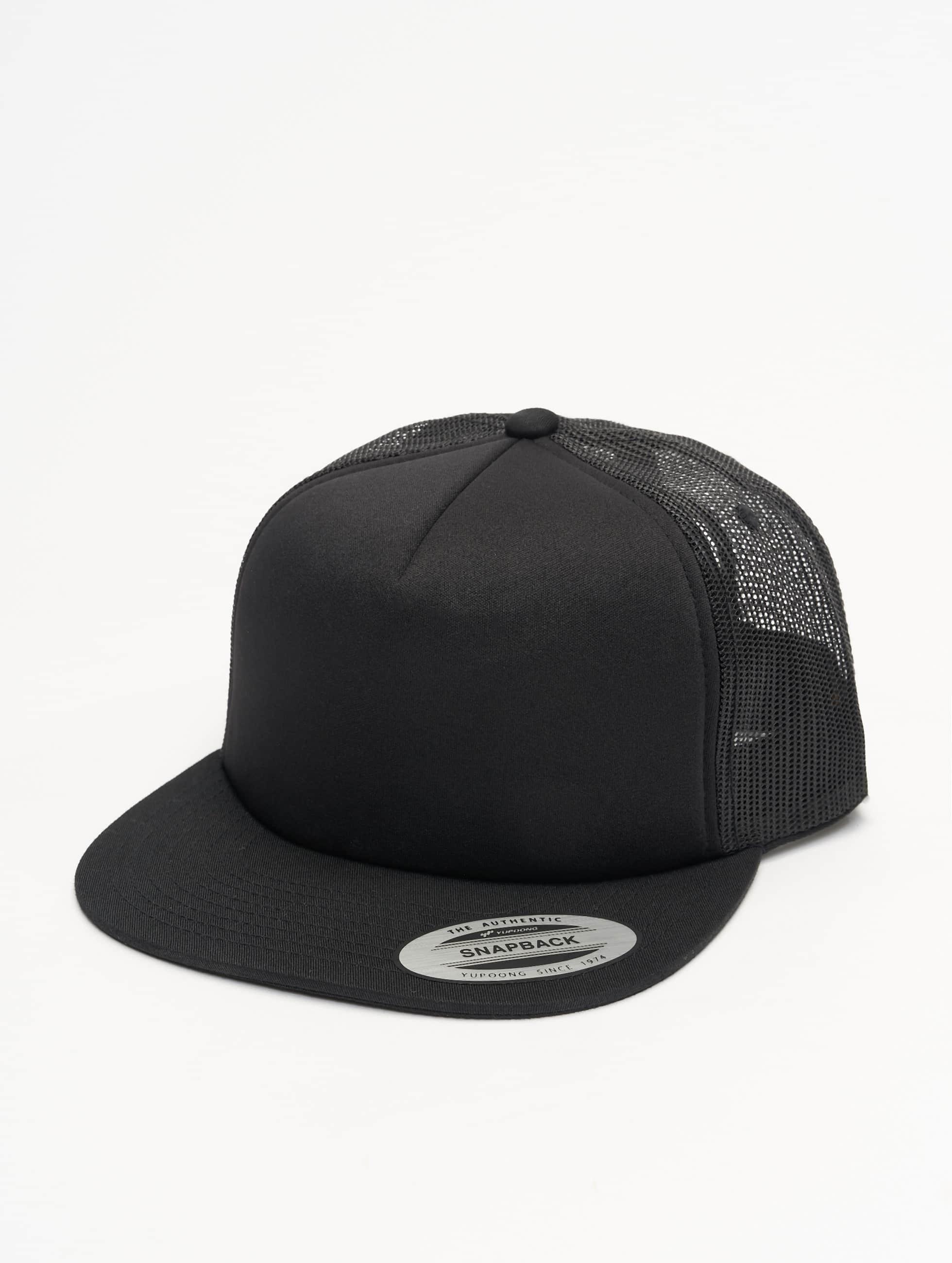 Flexfit Foam Trucker Cap Black