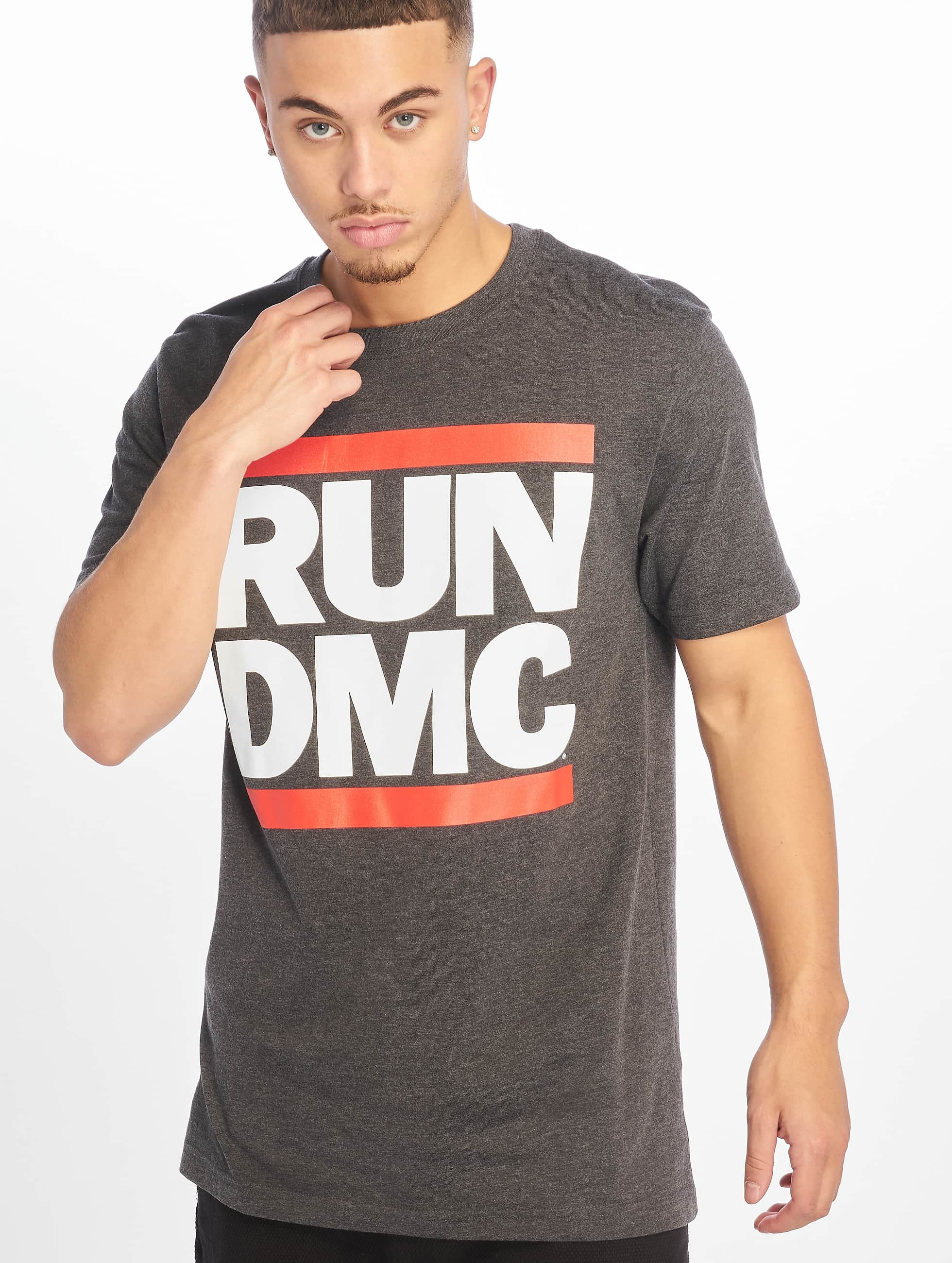 Mister Tee Männer T-Shirt Run DMC in grau