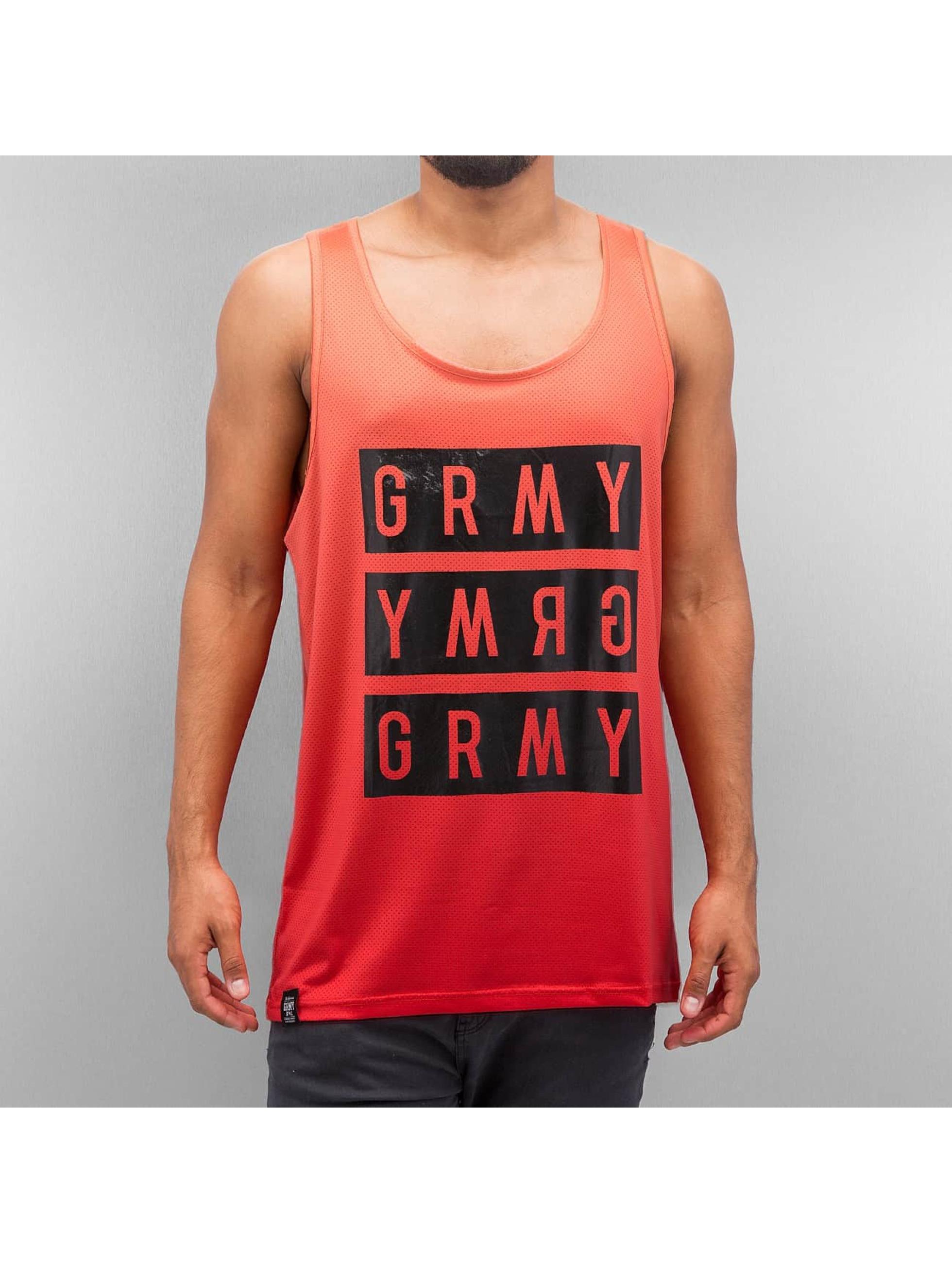 Grimey Wear Männer Tank Tops Legion in rot