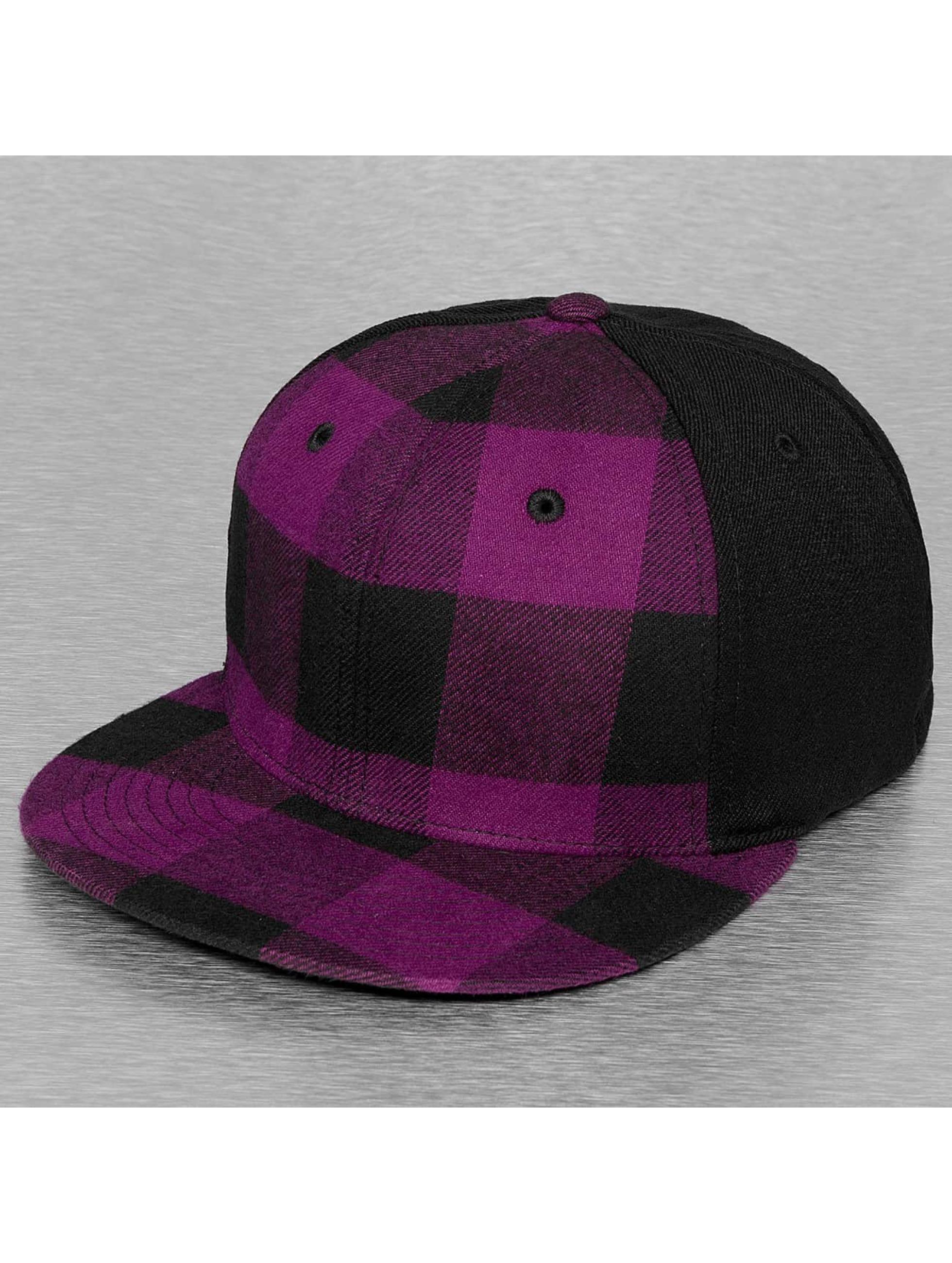 Decky USA Männer,Frauen Flexfitted Cap Flat Bill in violet