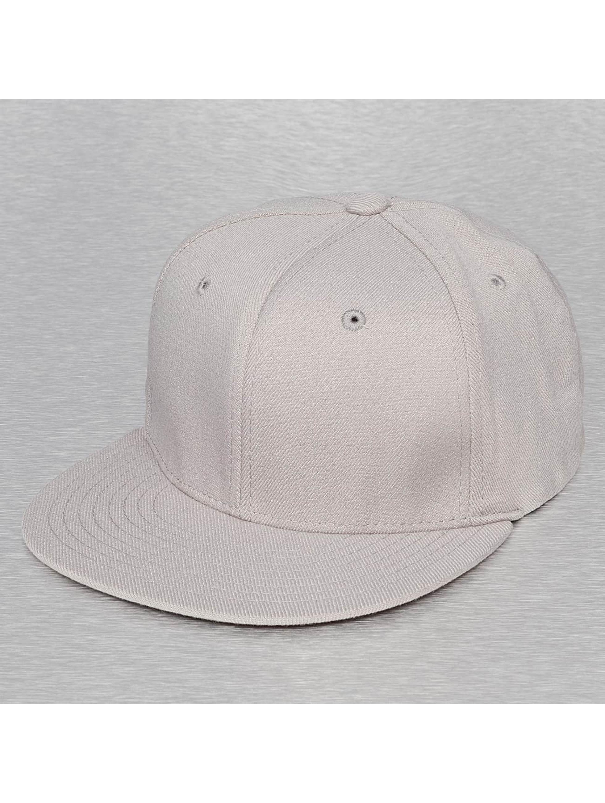 Decky USA Männer,Frauen Flexfitted Cap Flat Bill in grau