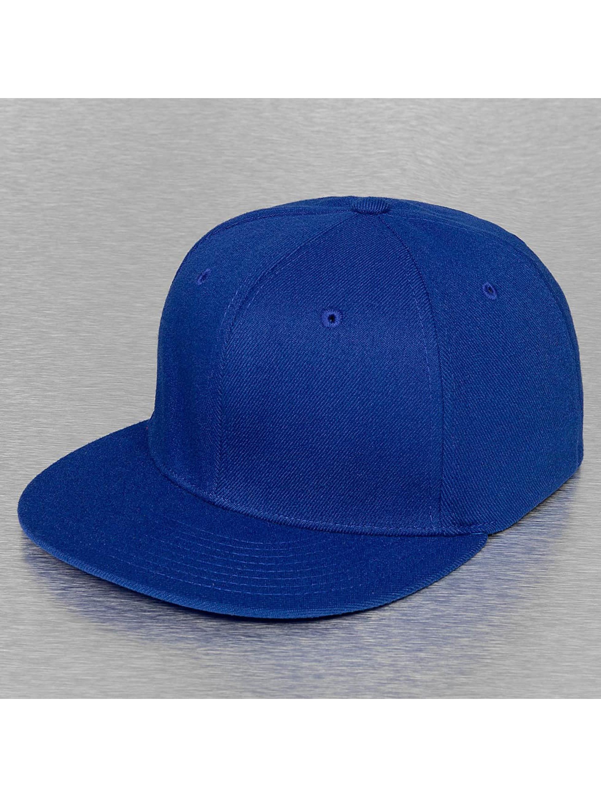 Decky USA Männer,Frauen Flexfitted Cap Flat Bill in blau
