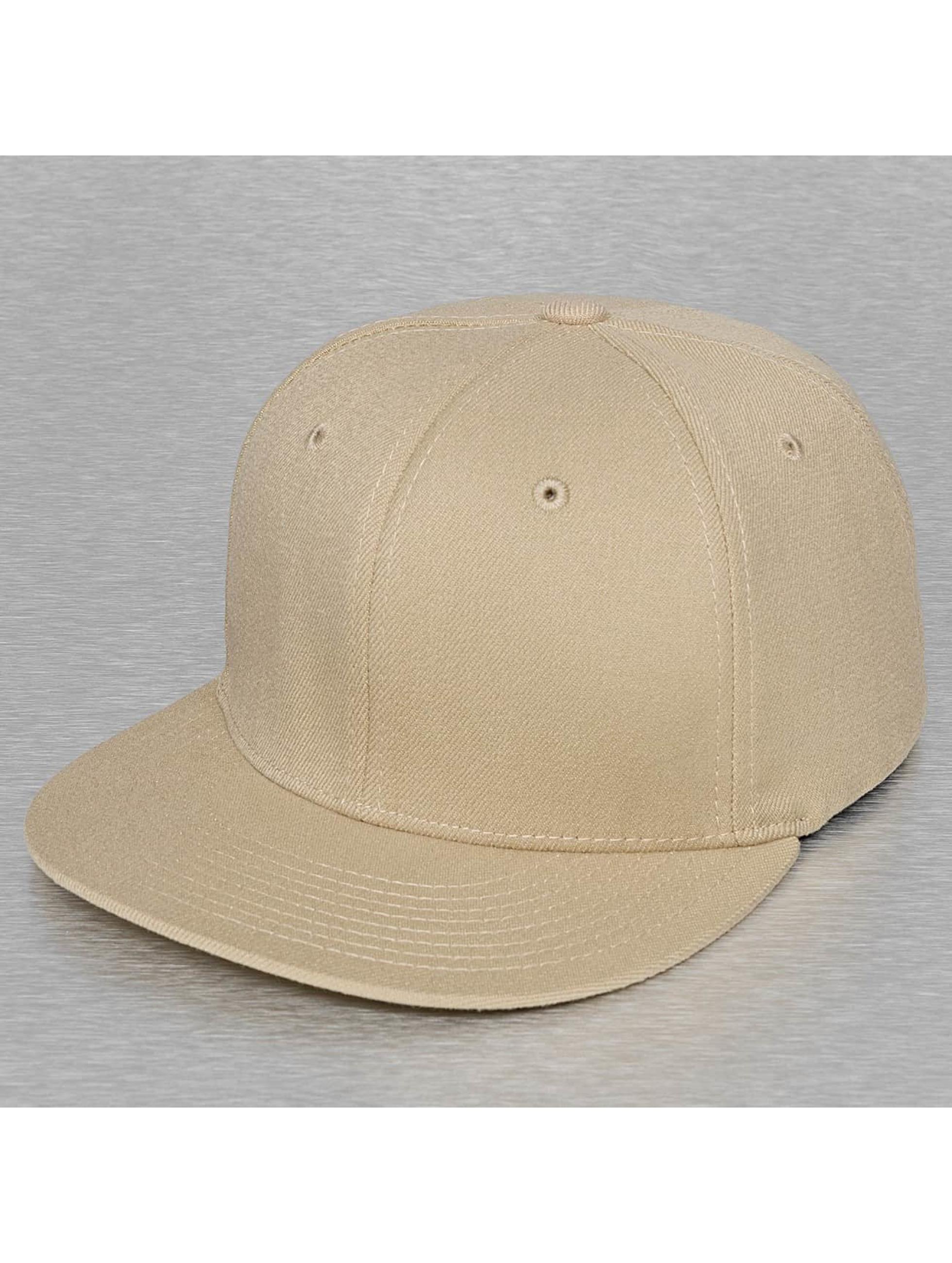 Decky USA Männer,Frauen Flexfitted Cap Flat Bill in khaki