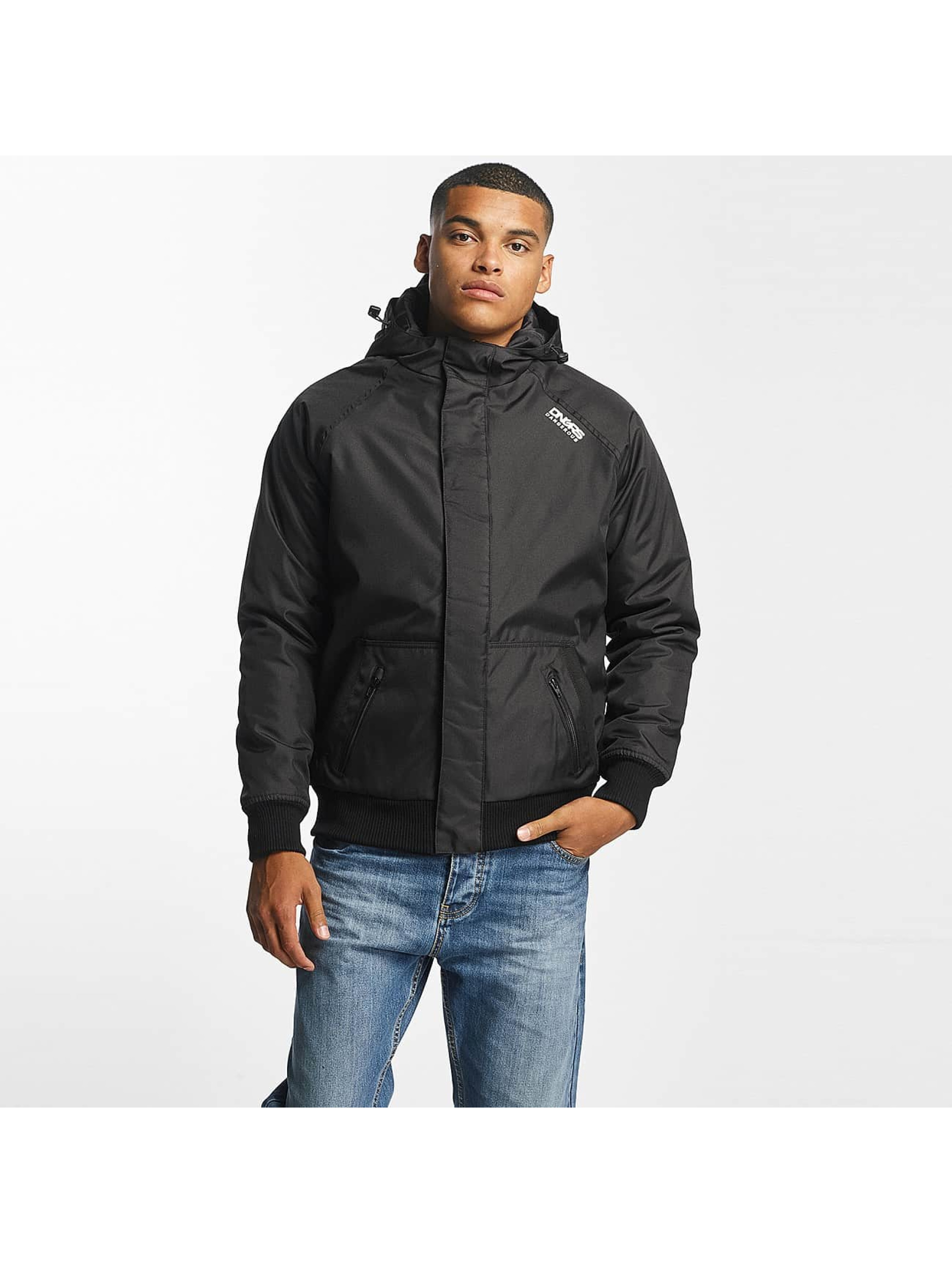 Dangerous DNGRS / Winter Jacket Orlando in black L