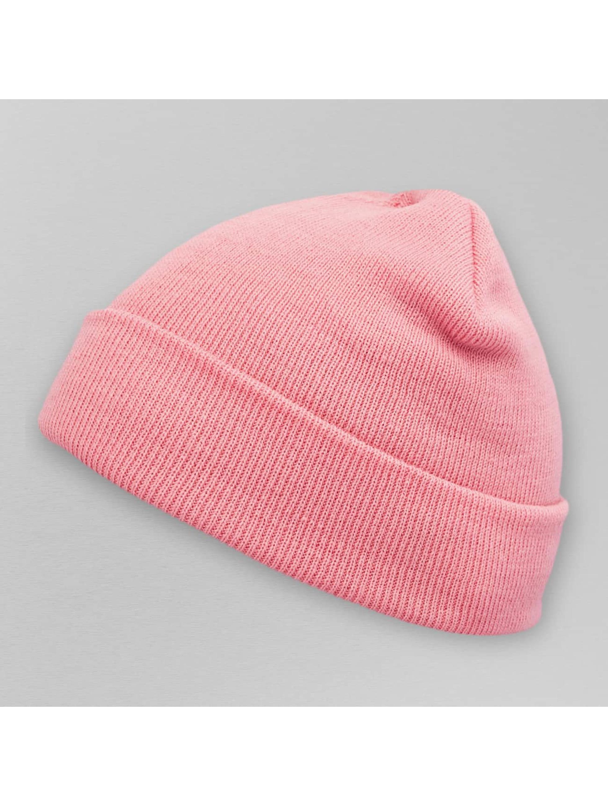 MSTRDS Männer,Frauen Beanie Pastel Basic Flap in rosa
