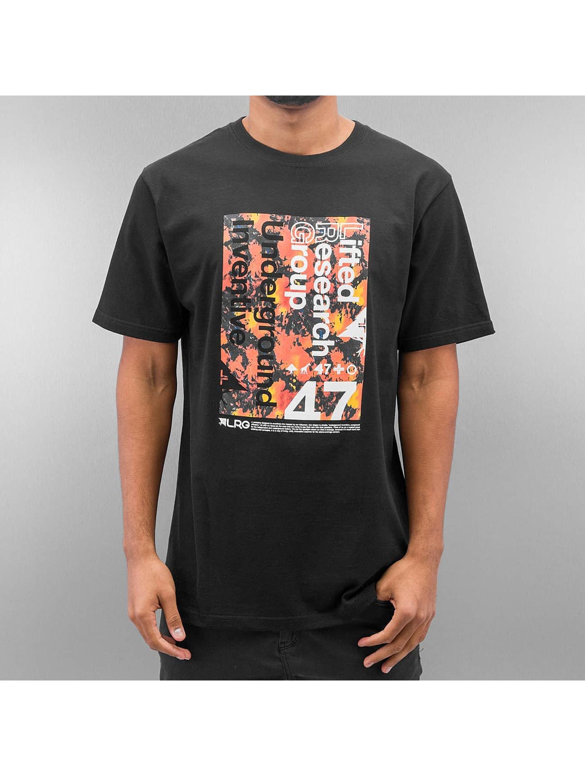 LRG Männer T-Shirt Underground 47 in schwarz