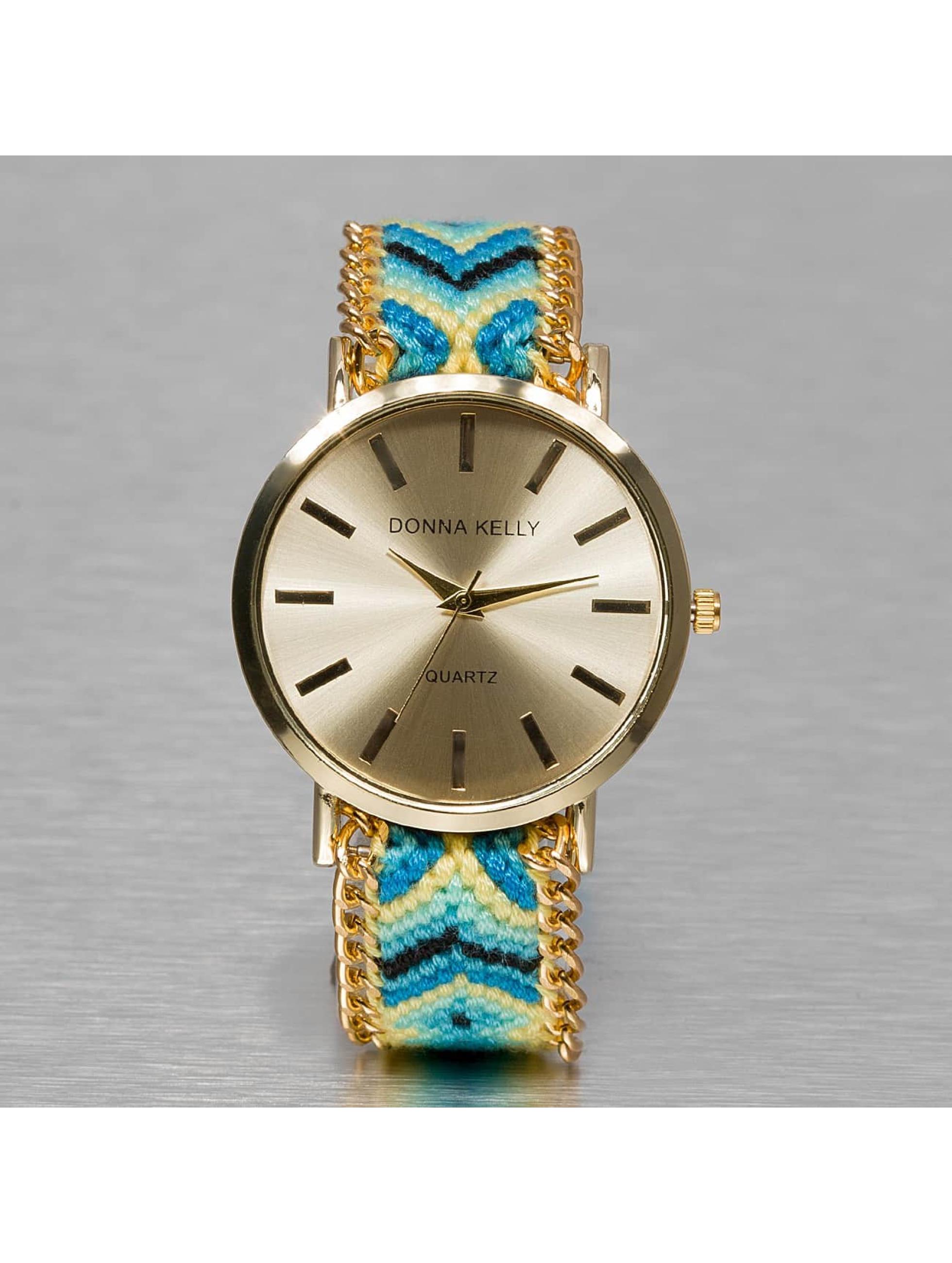 Kaiser Jewelry Frauen Uhr Textil in blau