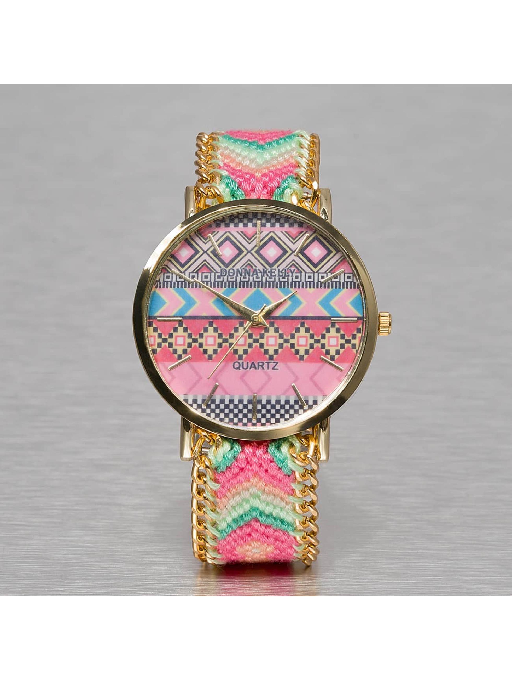 Kaiser Jewelry Frauen Uhr Textil in pink