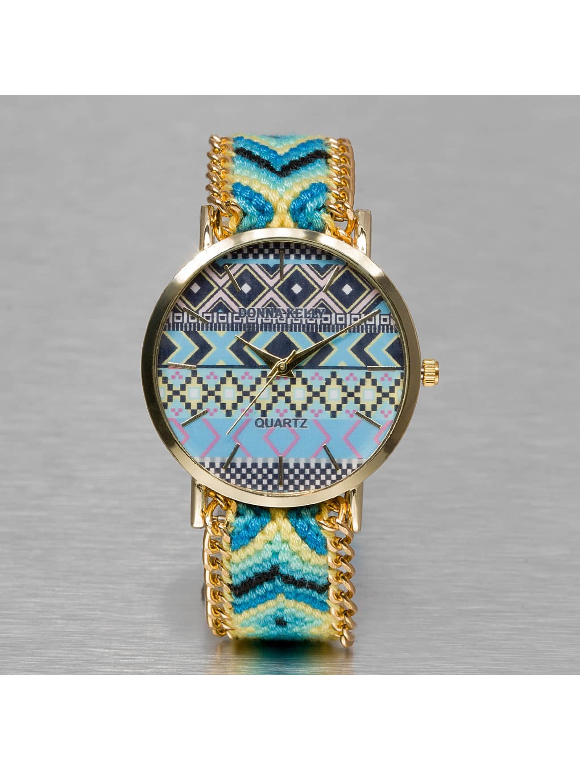 Kaiser Jewelry Frauen Uhr Textil in türkis