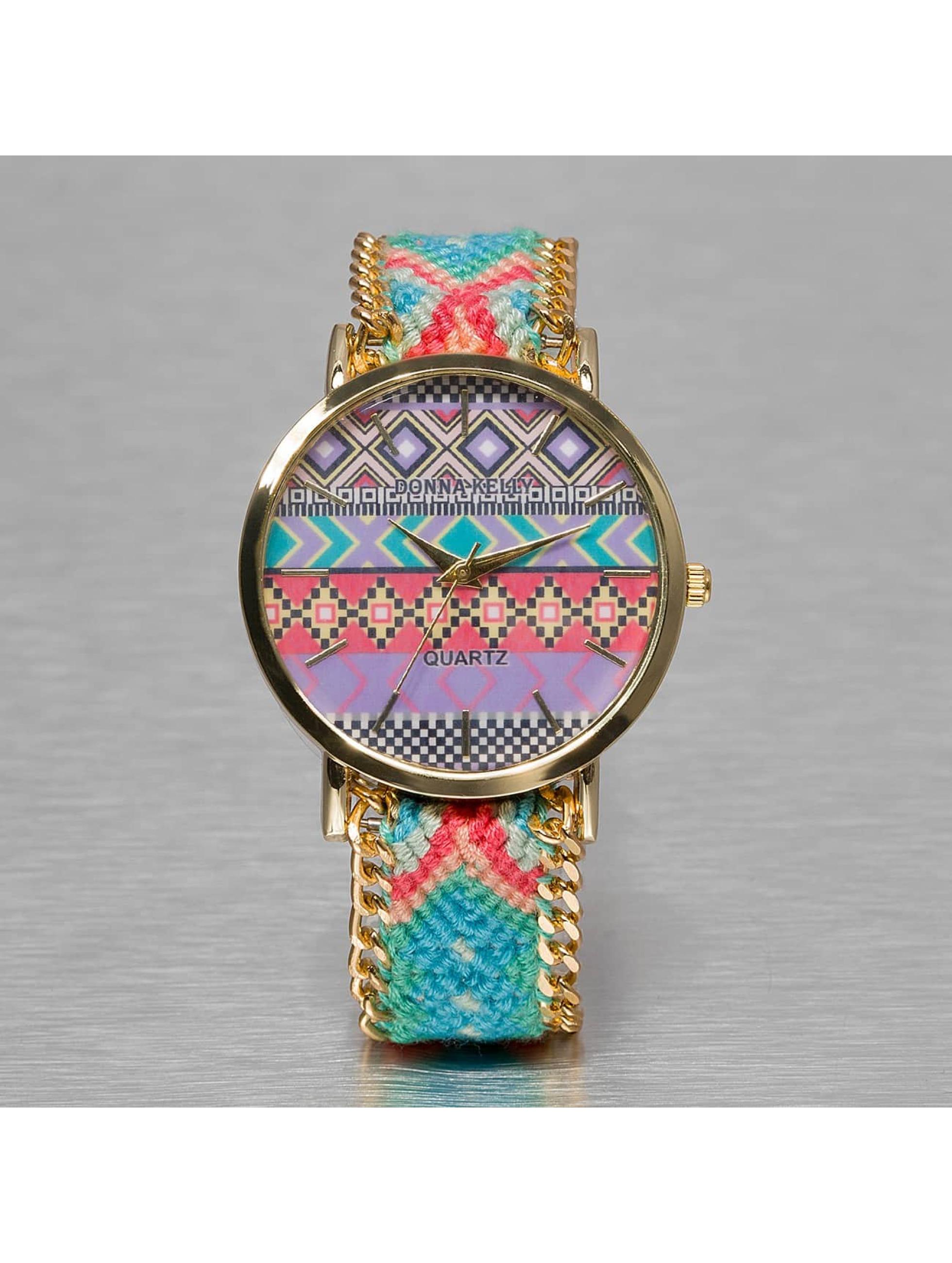 Kaiser Jewelry Frauen Uhr Textil in bunt
