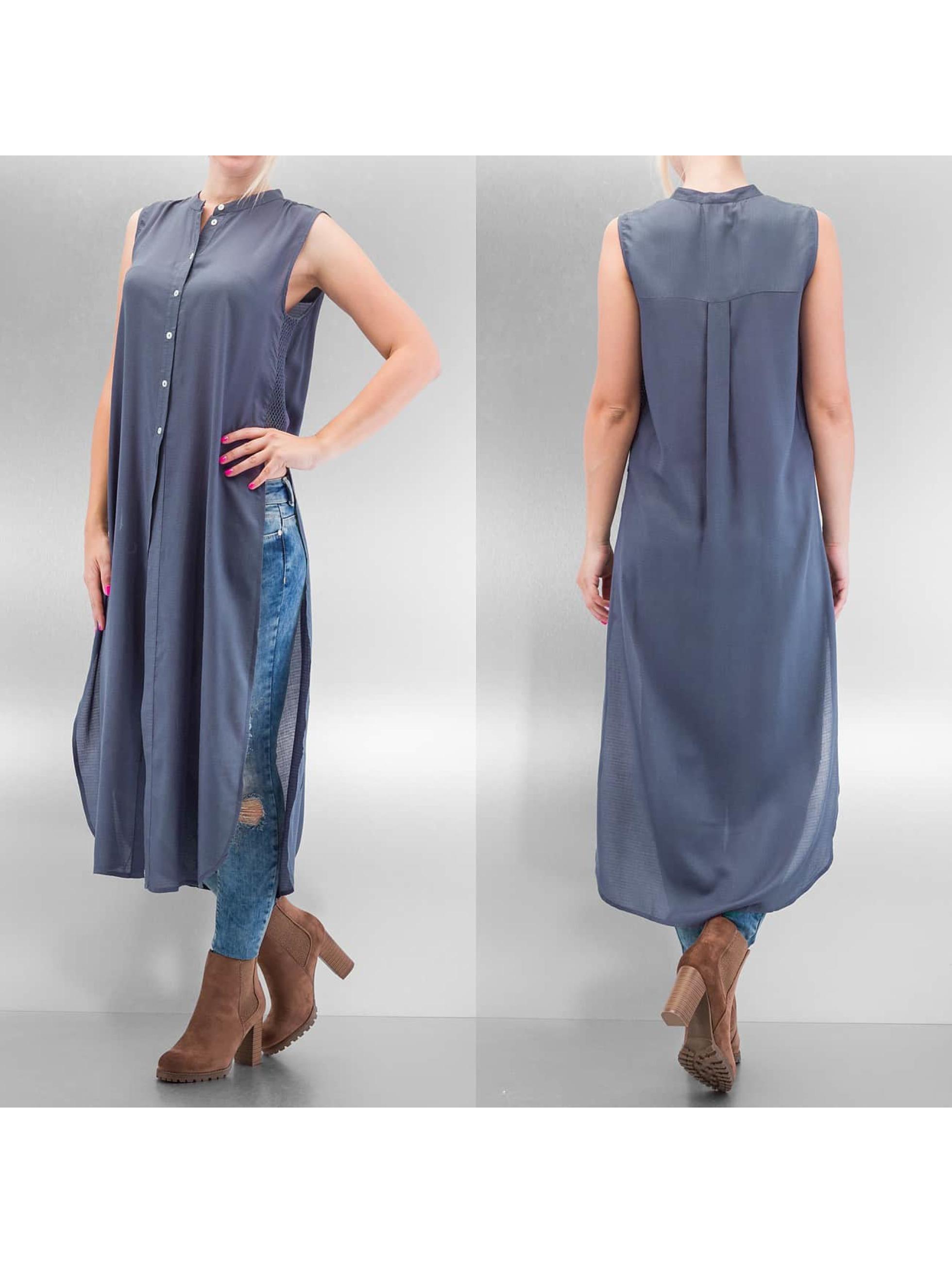 Vero Moda Frauen Bluse vmMeshy in blau