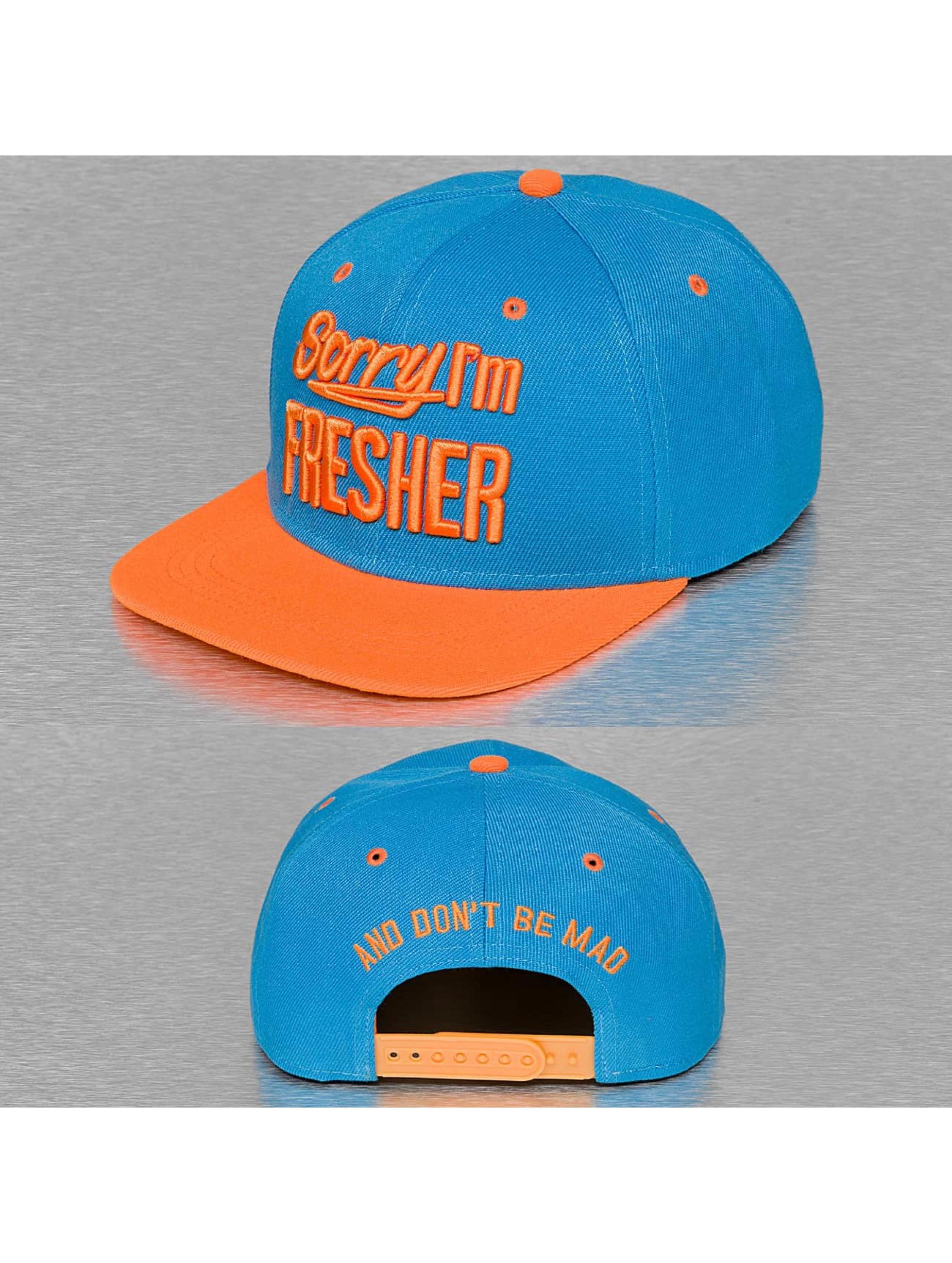 TrueSpin Sorry Im Fresher Snapback Cap Turquoise/Orange Sale Angebote Döbern