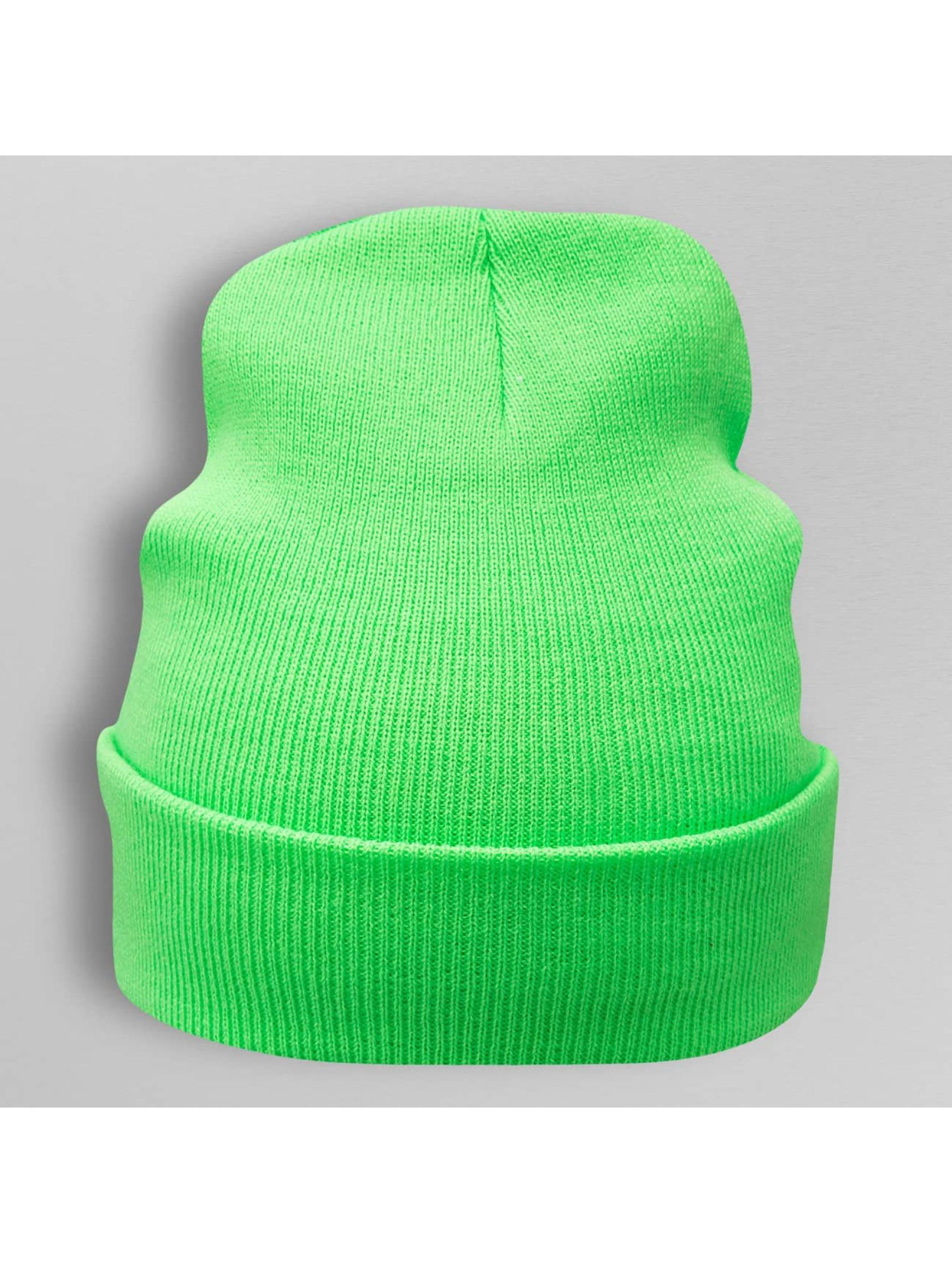 Cap Crony Männer,Frauen Beanie Neon Acrylic Long in grün