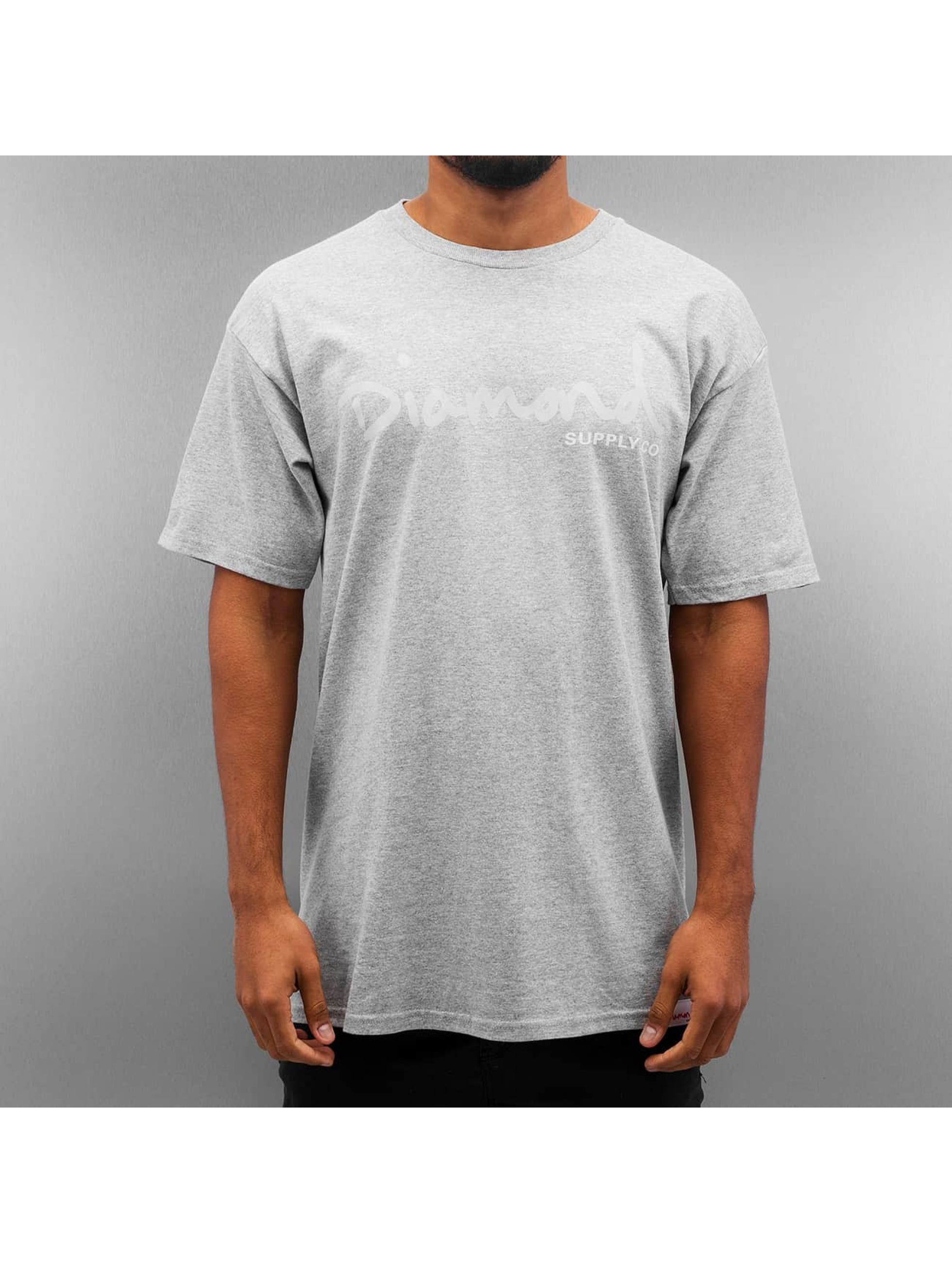 Diamond Männer T-Shirt Tonal OG Script in grau