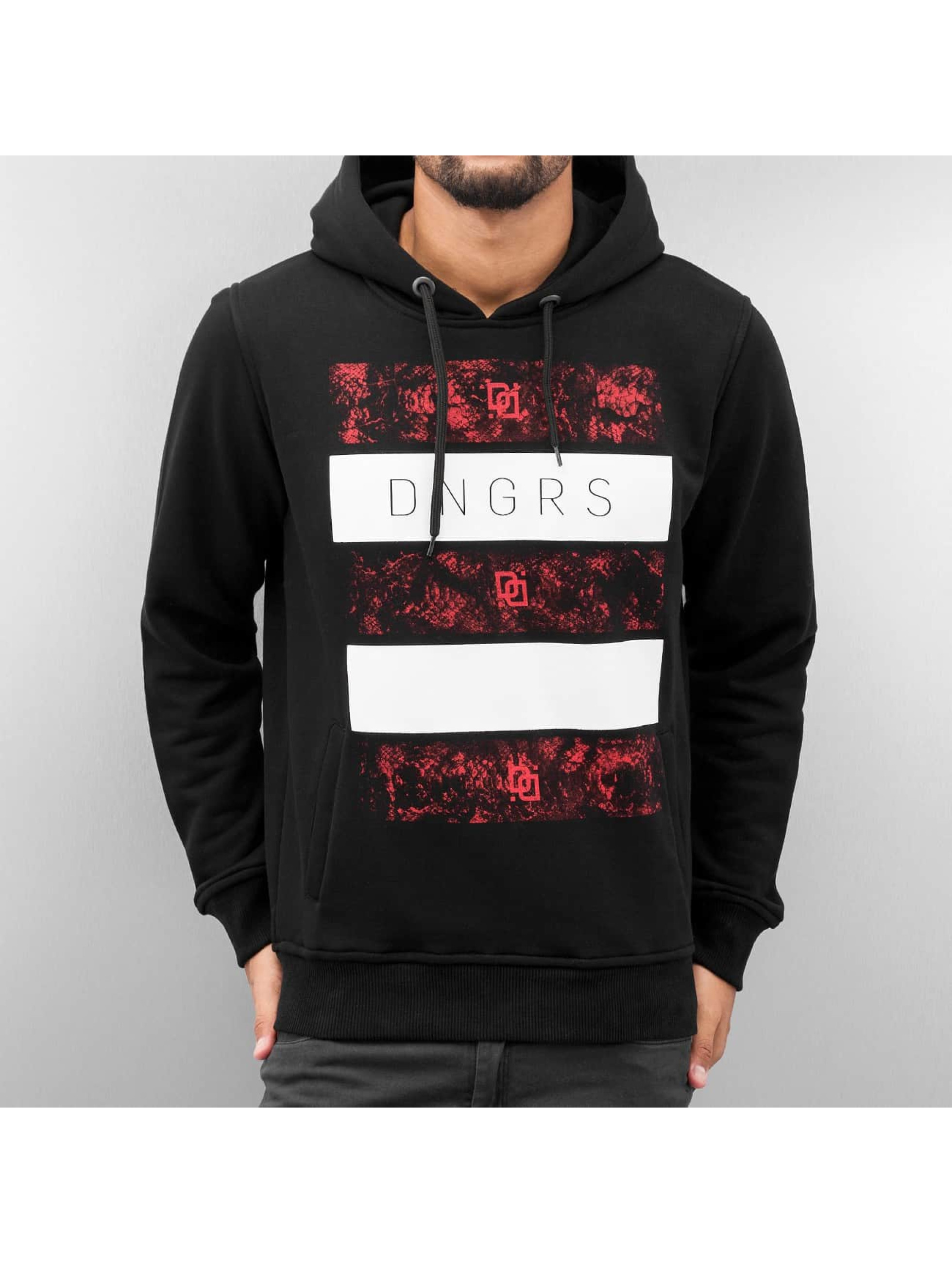 Dangerous DNGRS / Hoodie Logo in black S