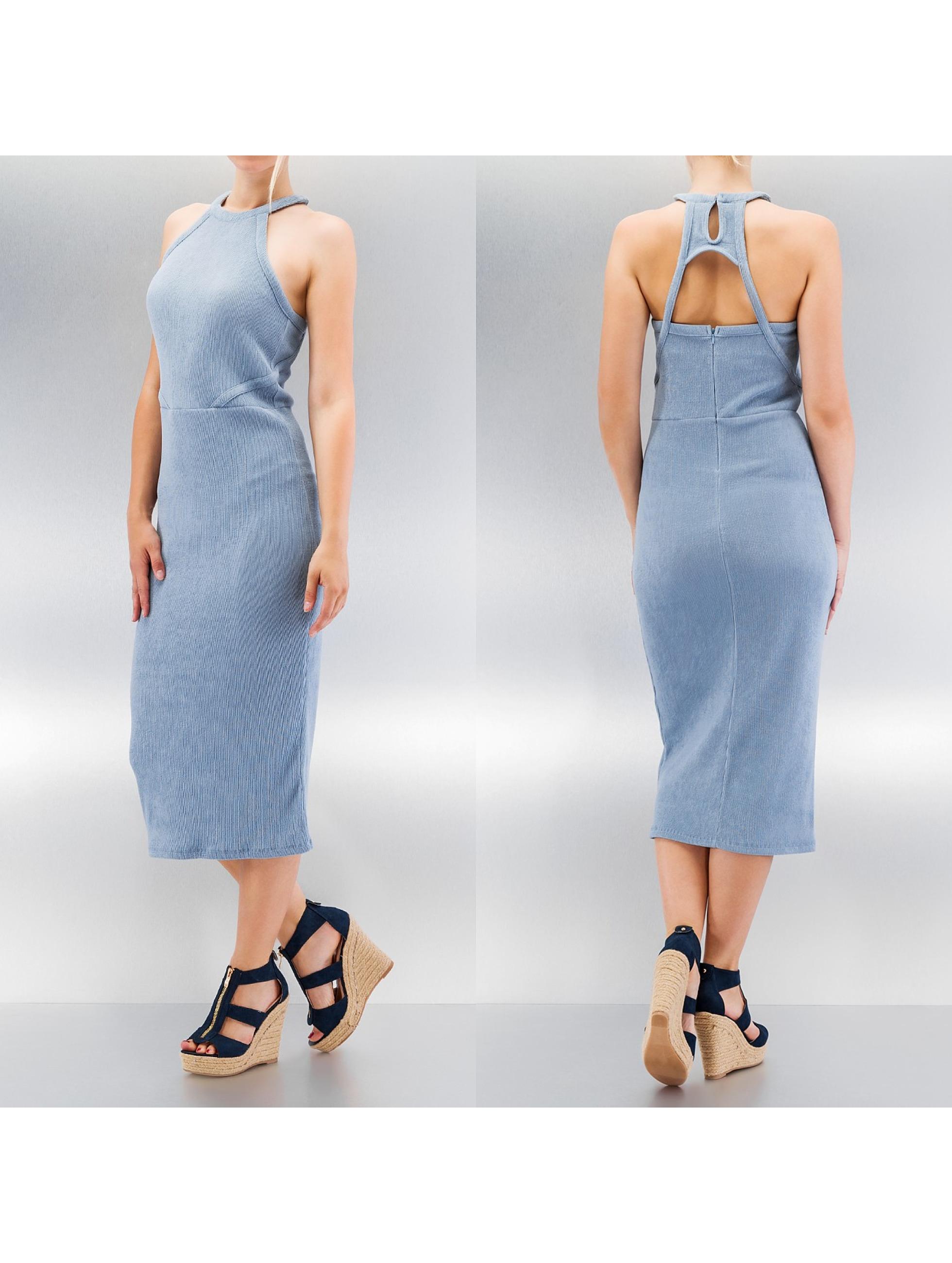 Vero Moda vmSayma Cut-Out Dress Dusty Blue Sale Angebote