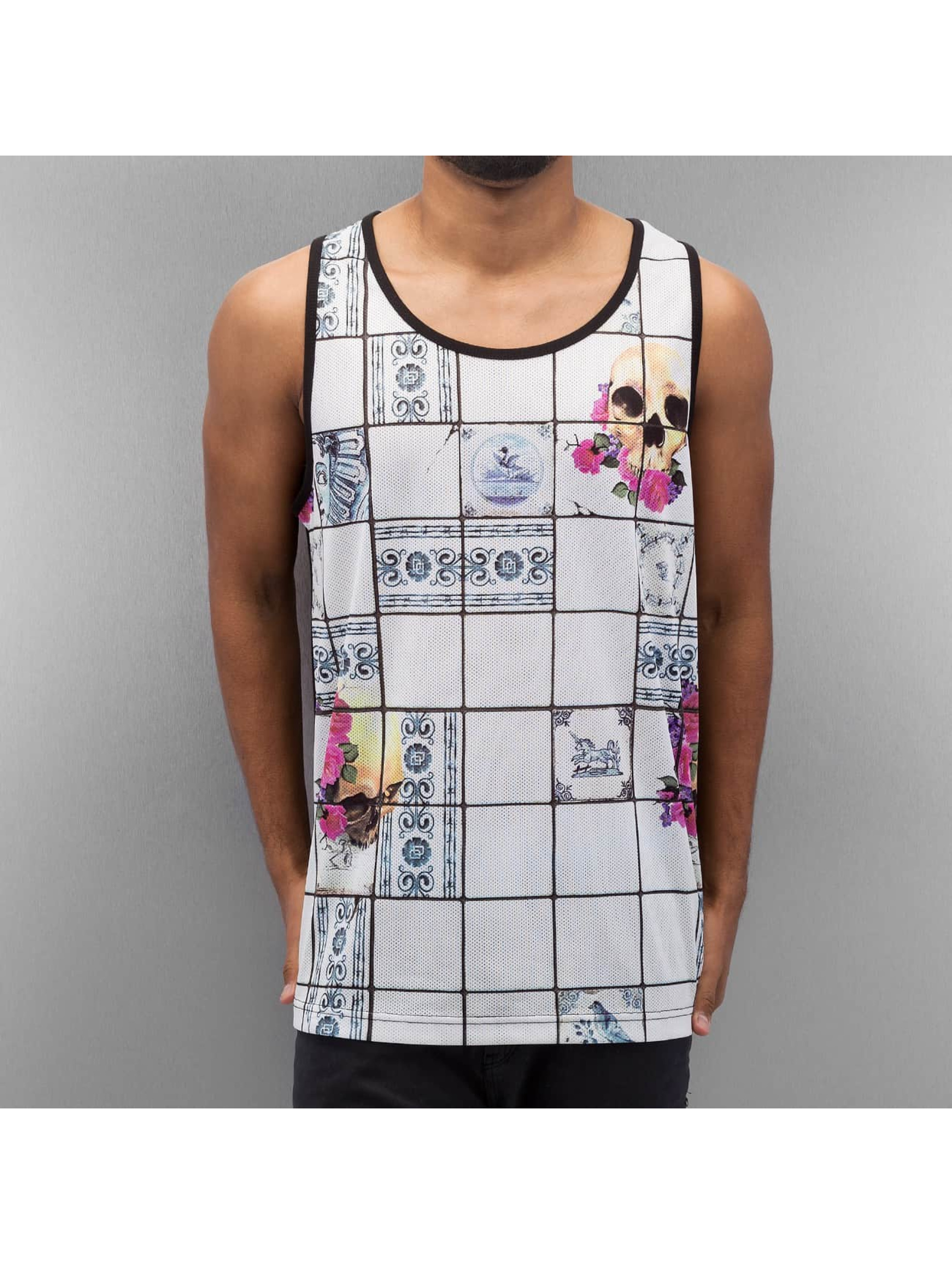 Dangerous DNGRS / Tank Tops Mosaik in white M