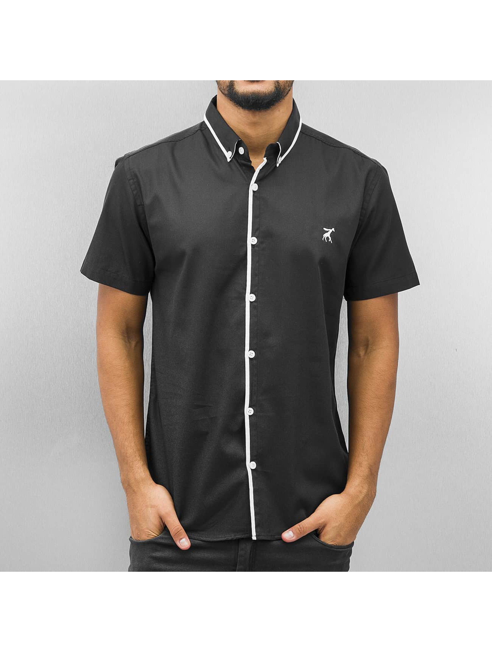 Cazzy Clang / Shirt Short Sleeves in black S