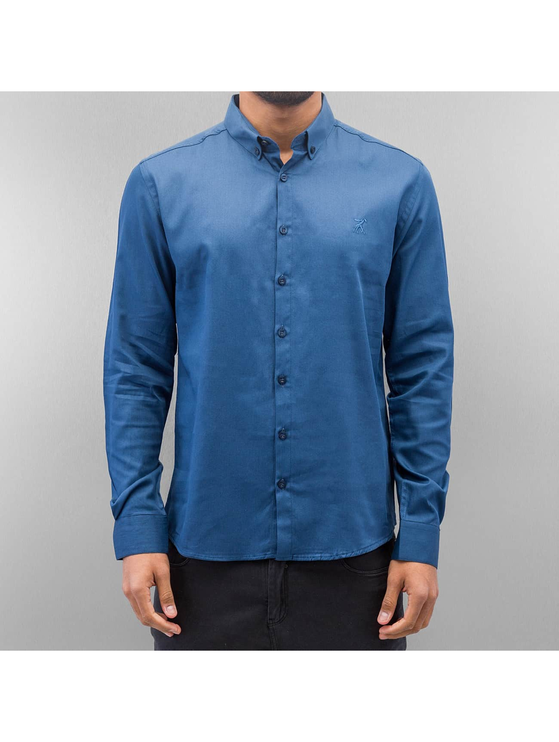 Cazzy Clang / Shirt Norick in blue M