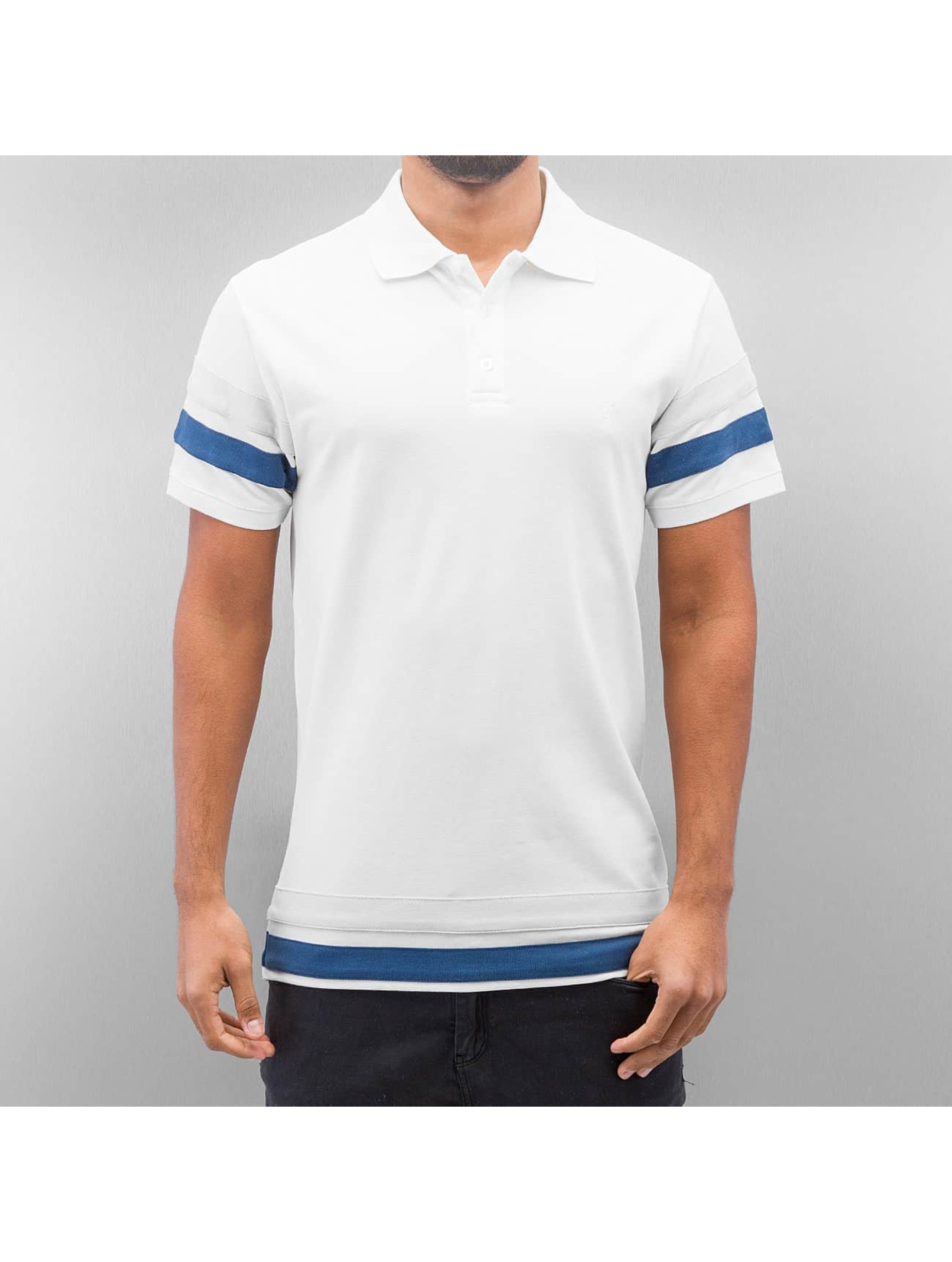 Cazzy Clang / Poloshirt Migge in white S