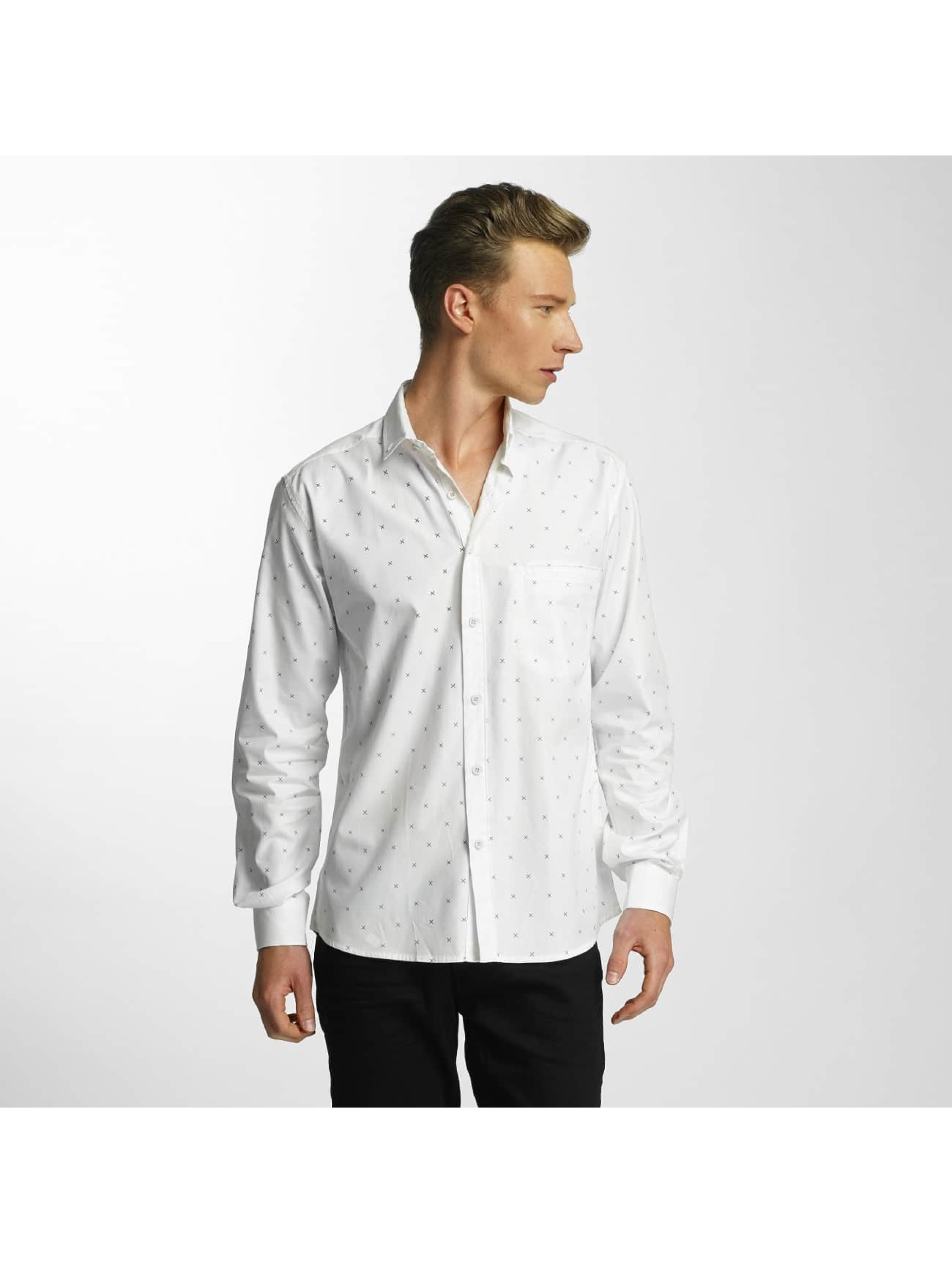 Cazzy Clang / Shirt Cross in white XL