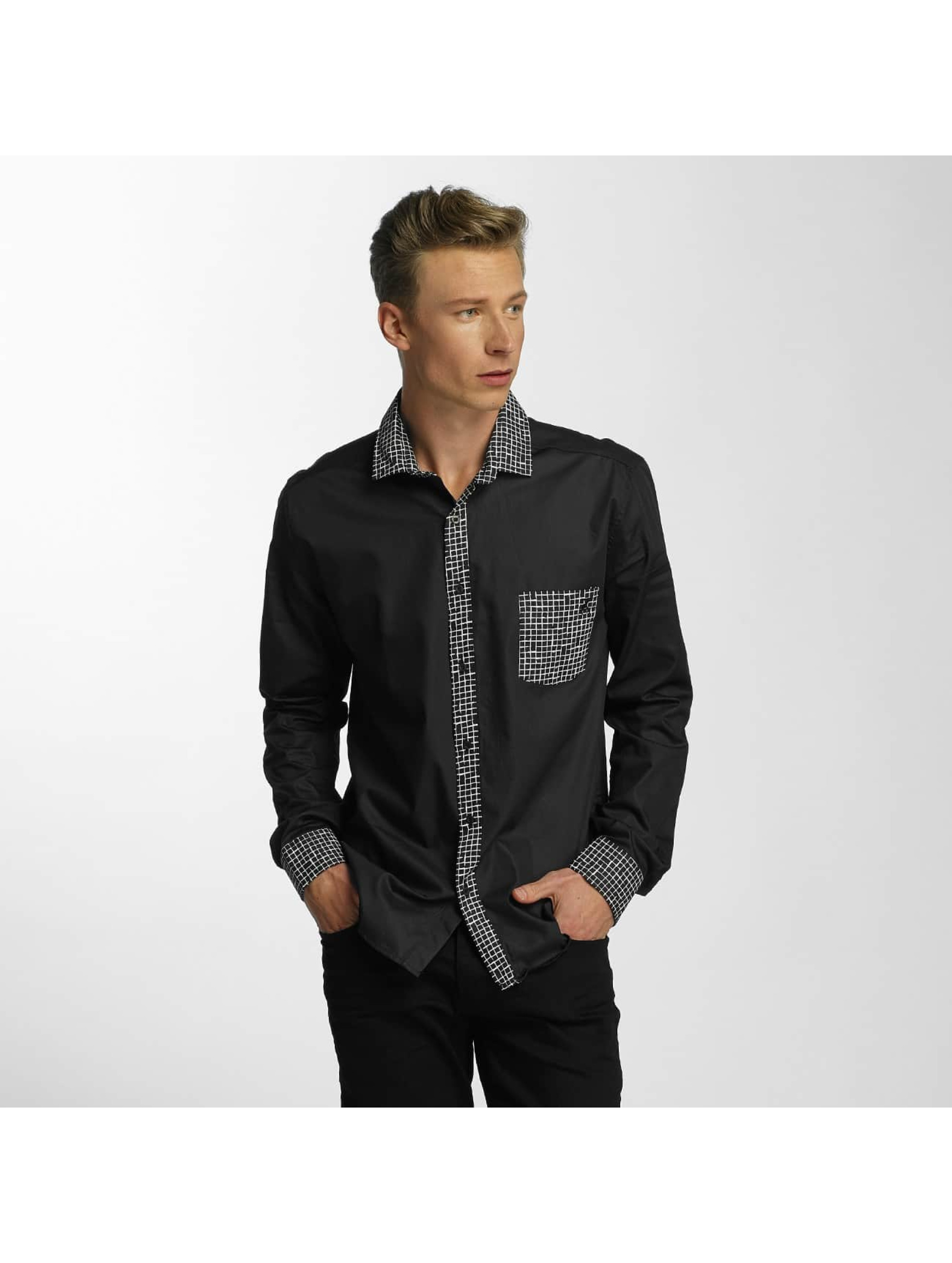 Cazzy Clang / Shirt Plaid in black XL