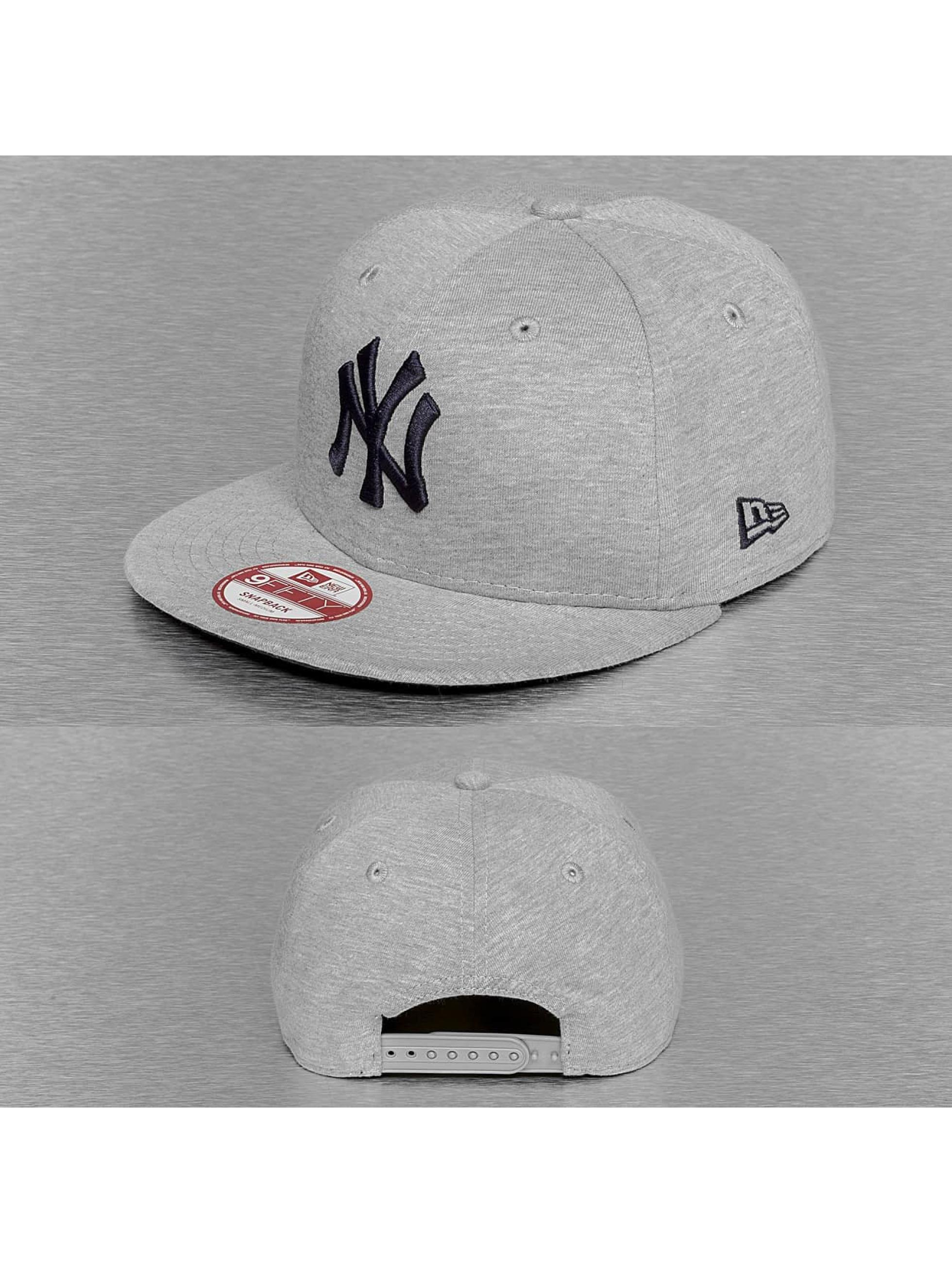 New Era Männer,Frauen Snapback Cap Jersey Team NY Yankees in grau