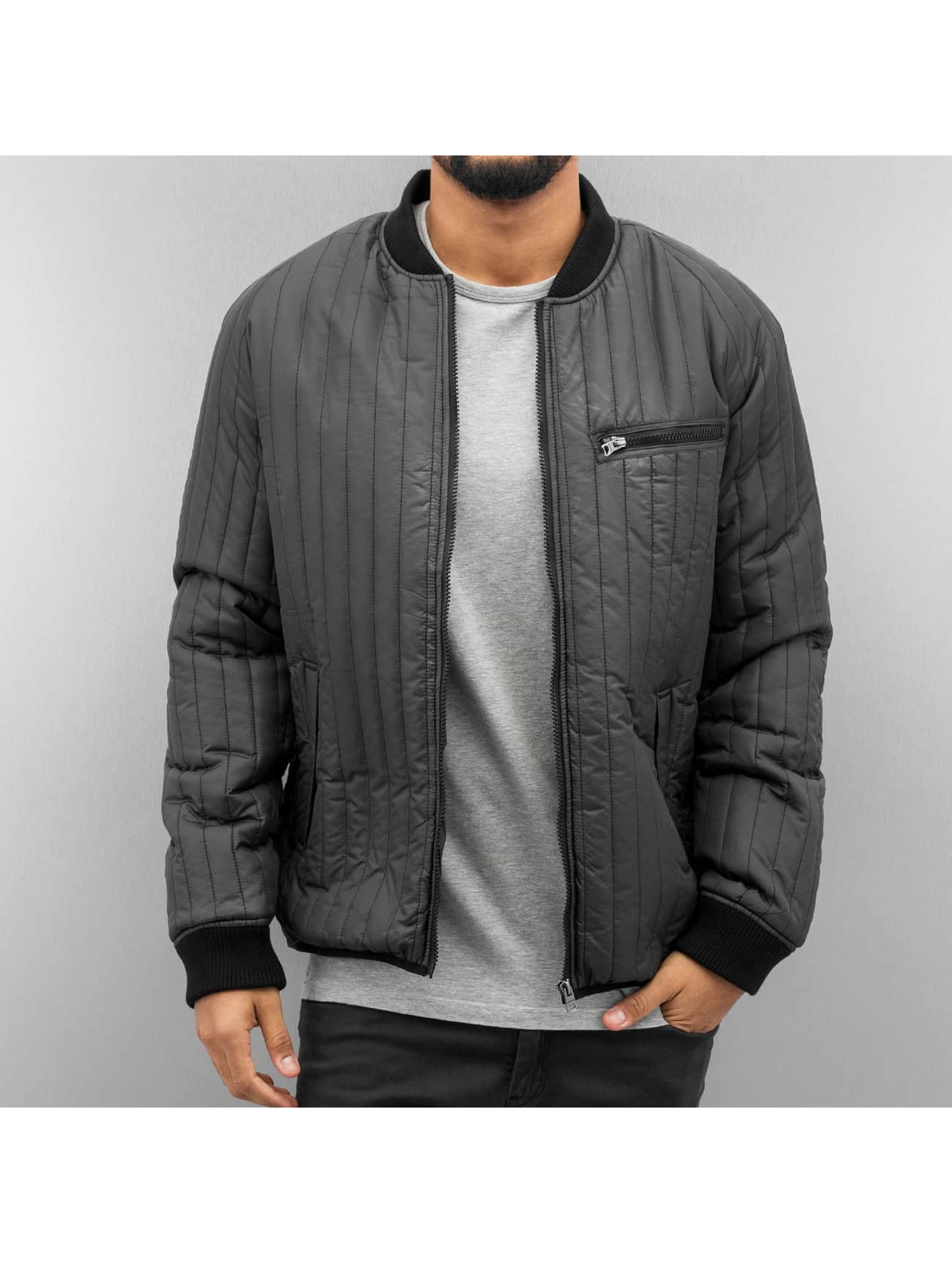 Only & Sons Männer Bomberjacke onsLiam Quilt in grau