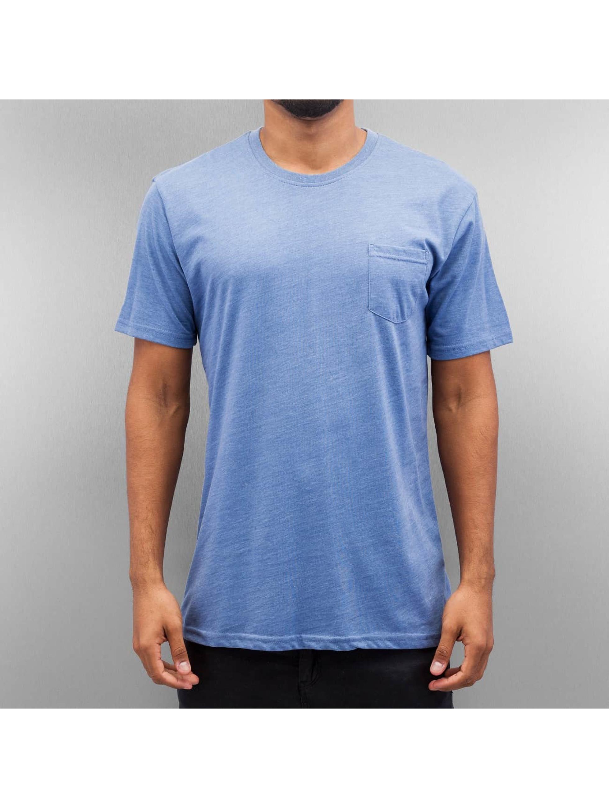 Cyprime Breast Pocket T Shirt Grey Blue